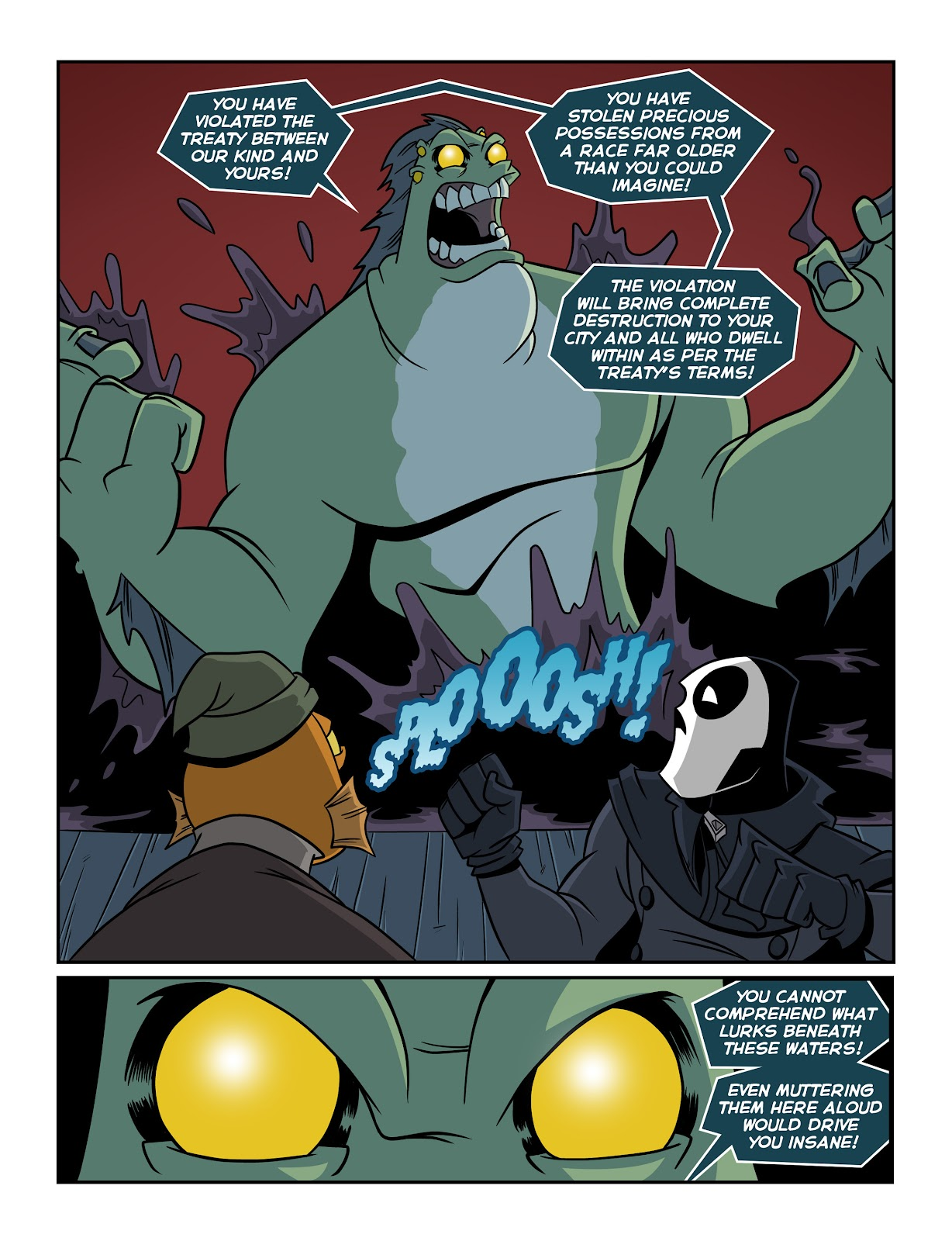 Read online The Haunter comic -  Issue #2 - 9
