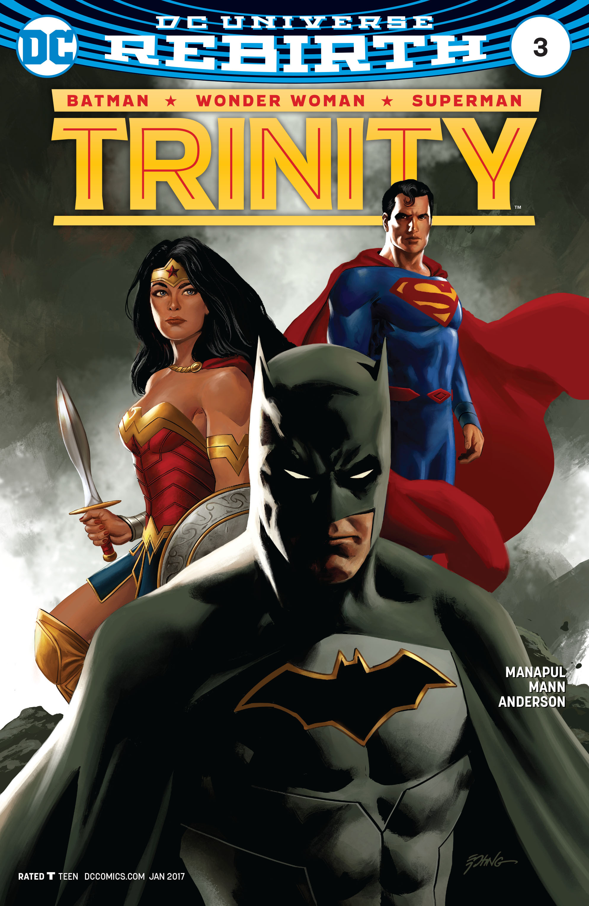 Read online Trinity (2016) comic -  Issue #3 - 3