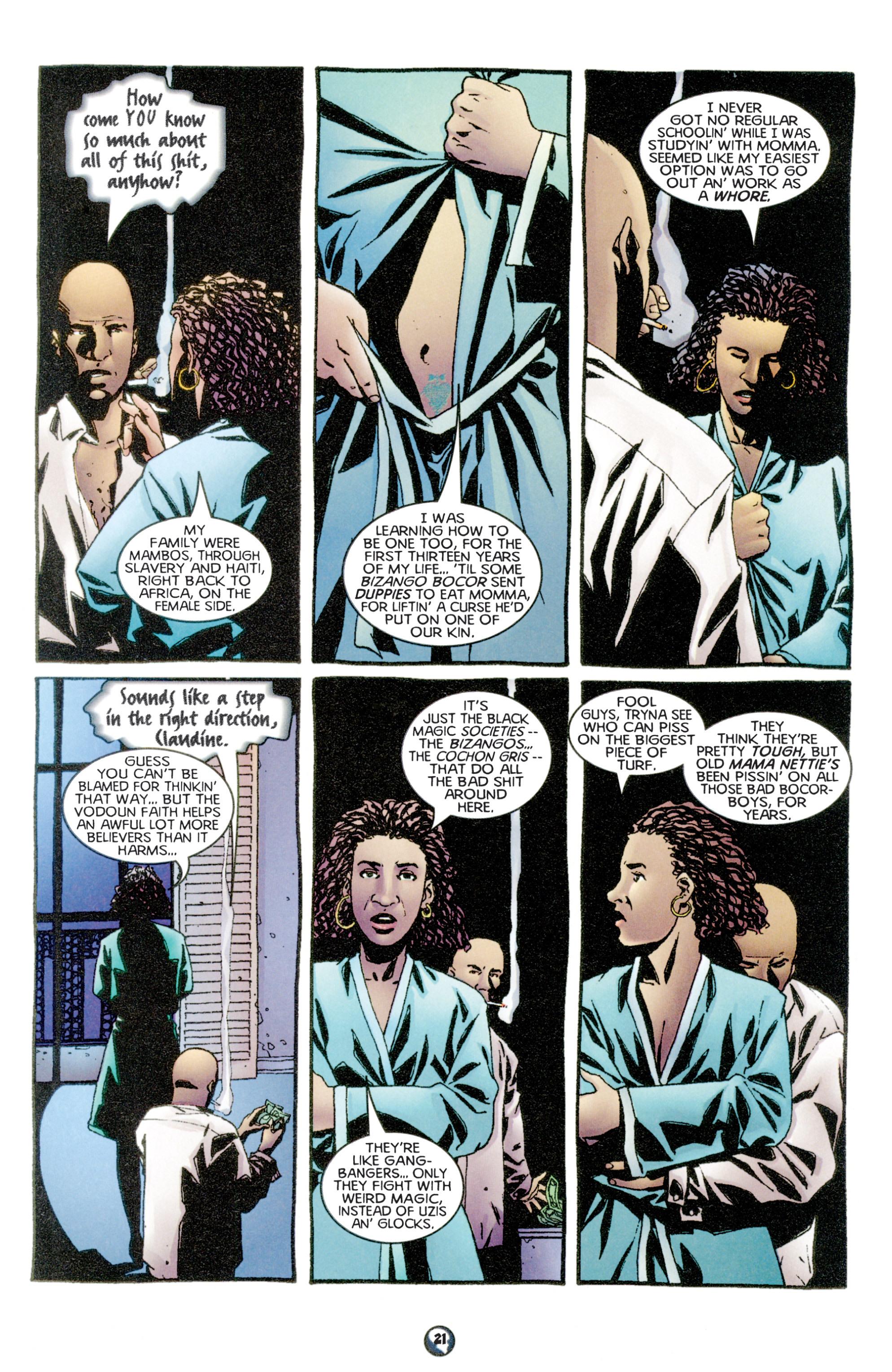 Read online Shadowman (1997) comic -  Issue #6 - 17