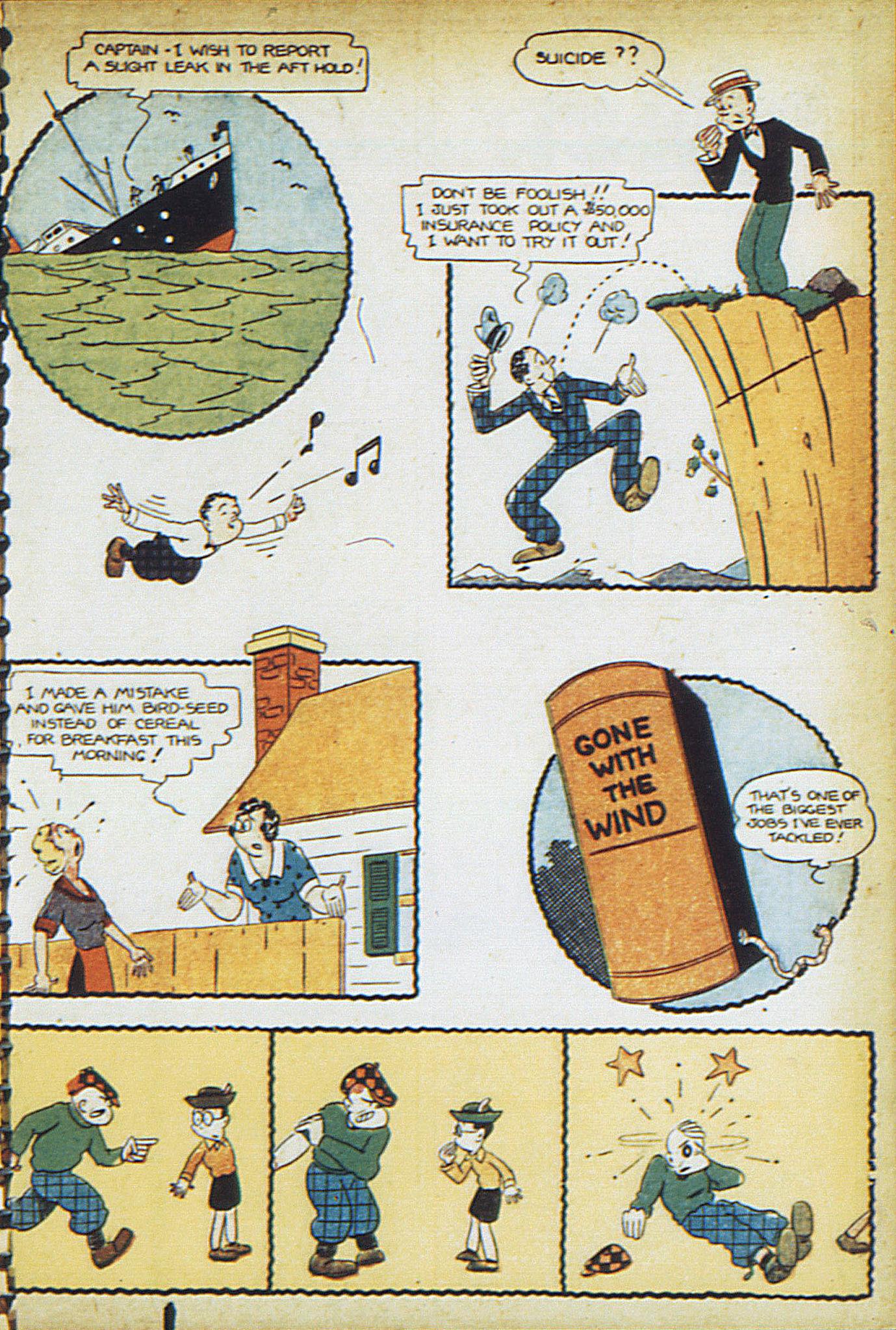 Read online Adventure Comics (1938) comic -  Issue #17 - 36