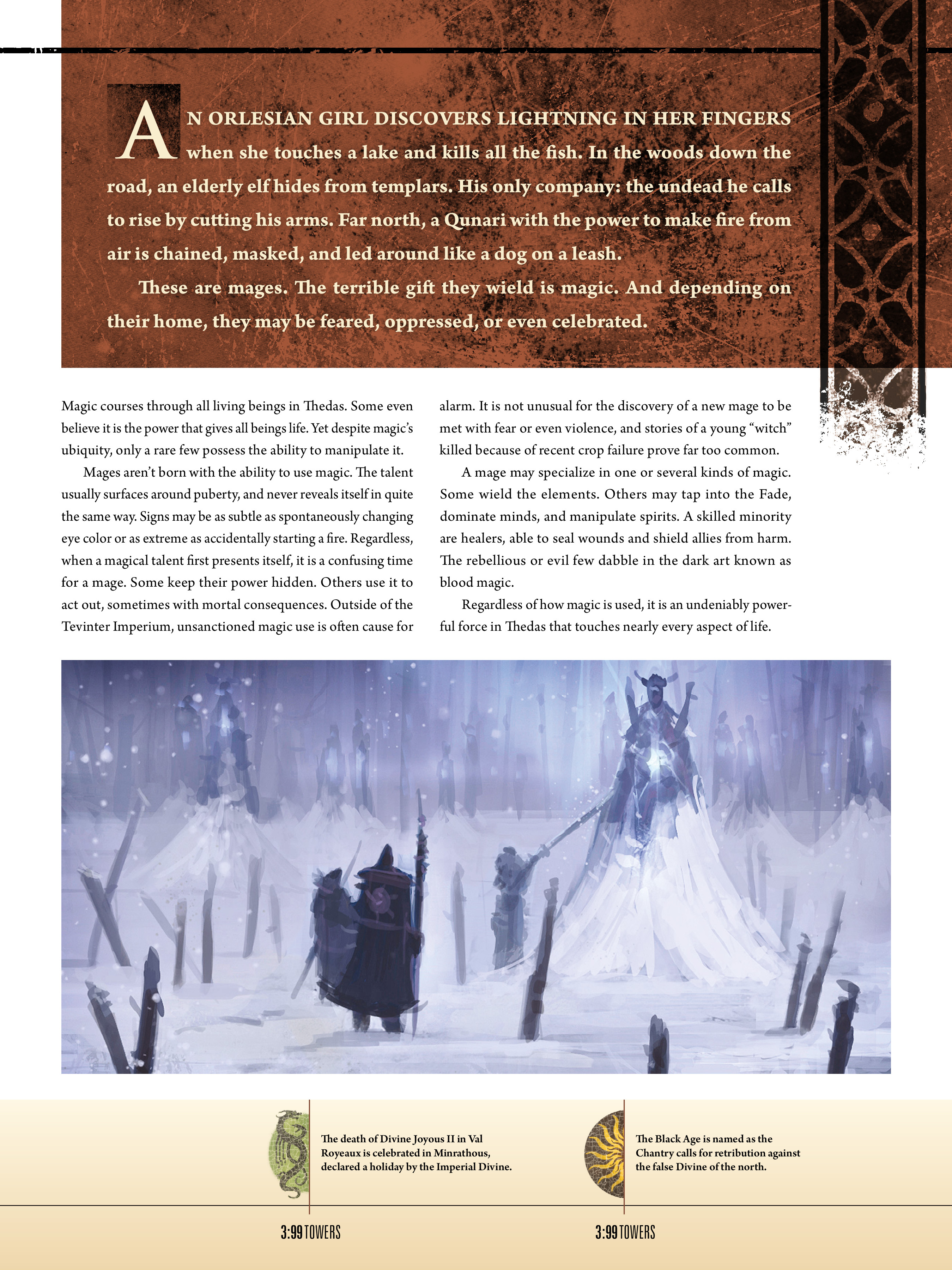 Read online Dragon Age: The World of Thedas comic -  Issue # TPB 1 - 72