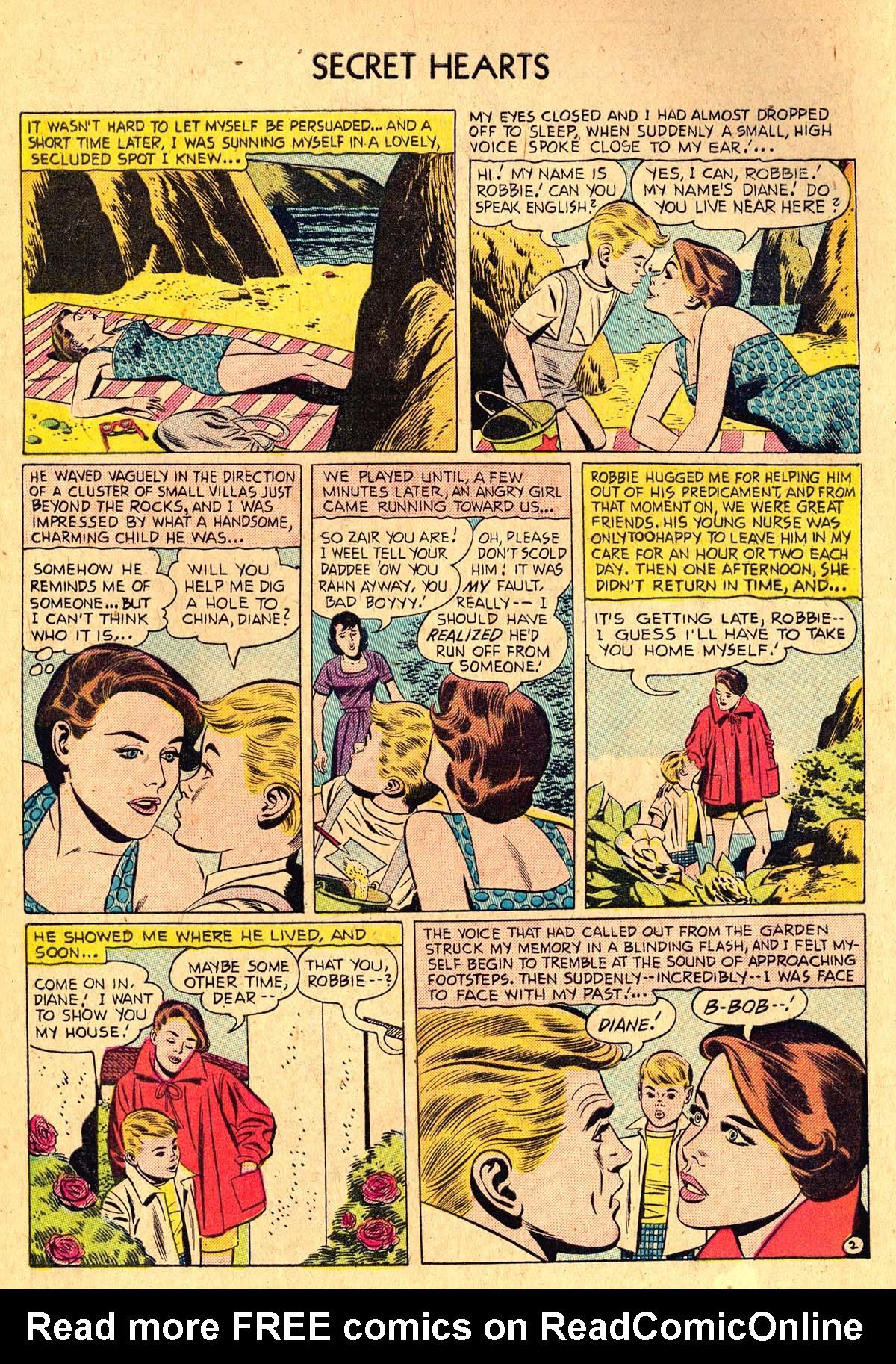 Read online Secret Hearts comic -  Issue #36 - 4