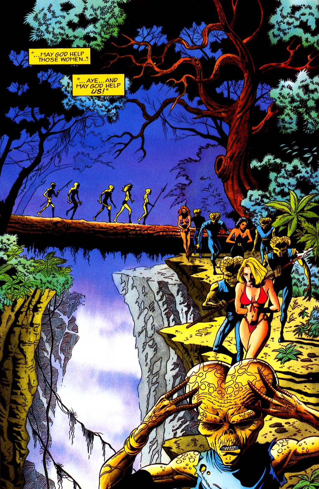 Read online Turok, Dinosaur Hunter (1993) comic -  Issue #32 - 10