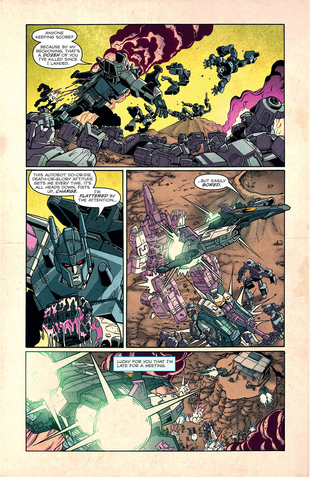 Read online Transformers: Last Stand of The Wreckers comic -  Issue #2 - 5