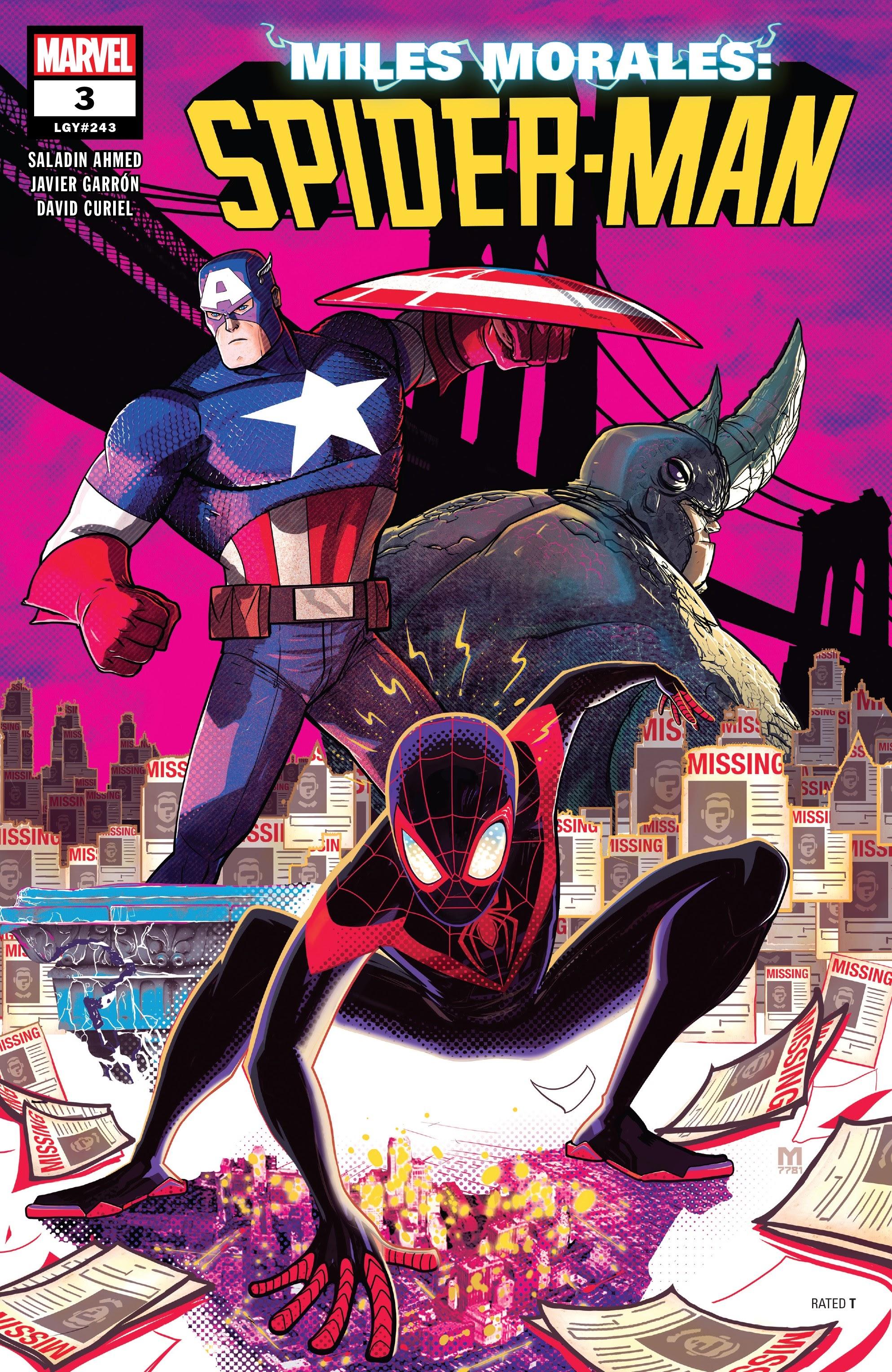 Miles Morales: Spider-Man 3 Page 1