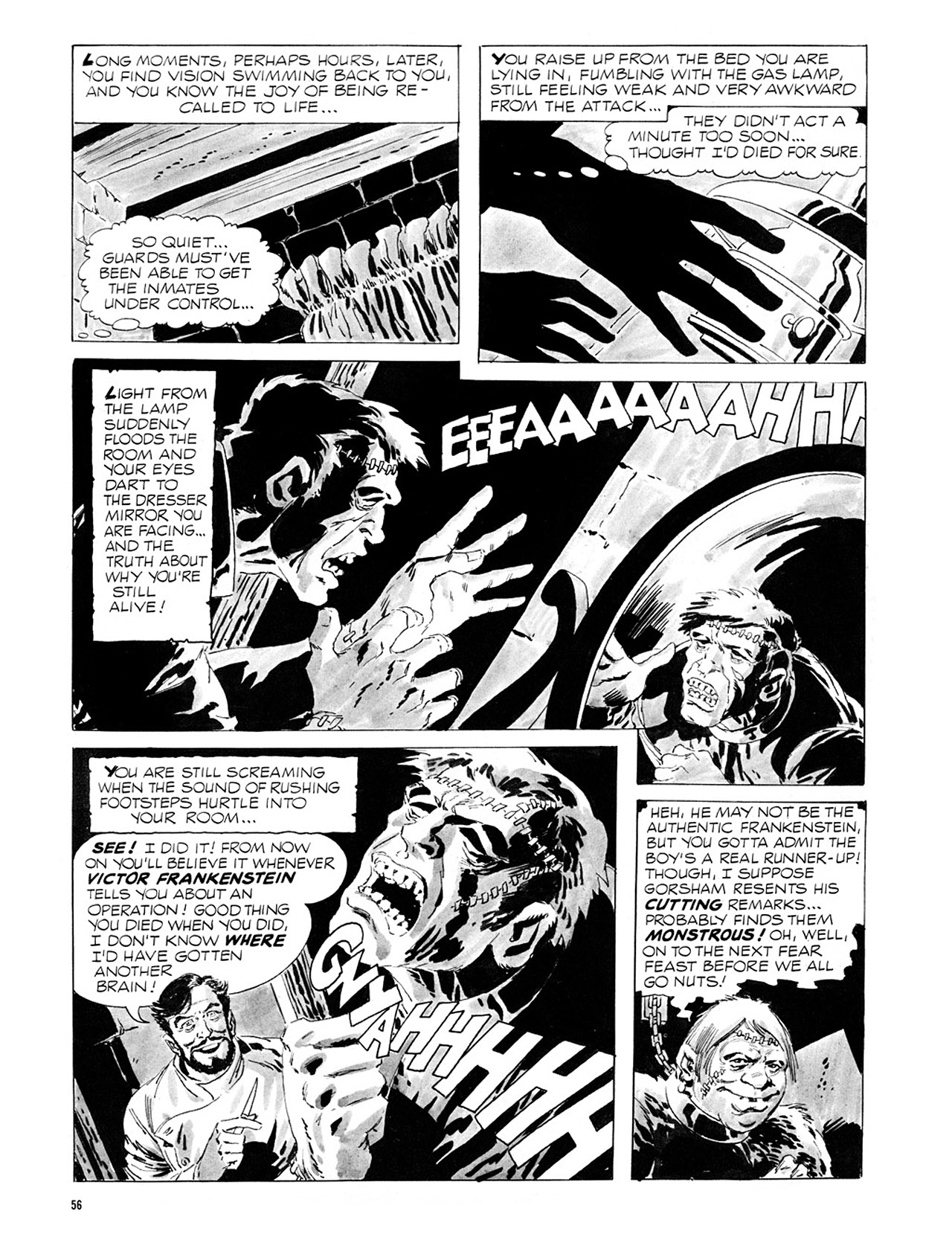 Read online Eerie Archives comic -  Issue # TPB 2 - 57