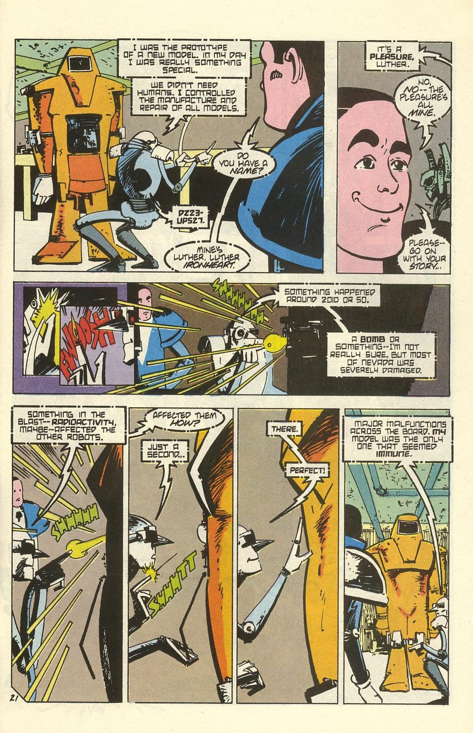 Read online American Flagg! comic -  Issue #41 - 27
