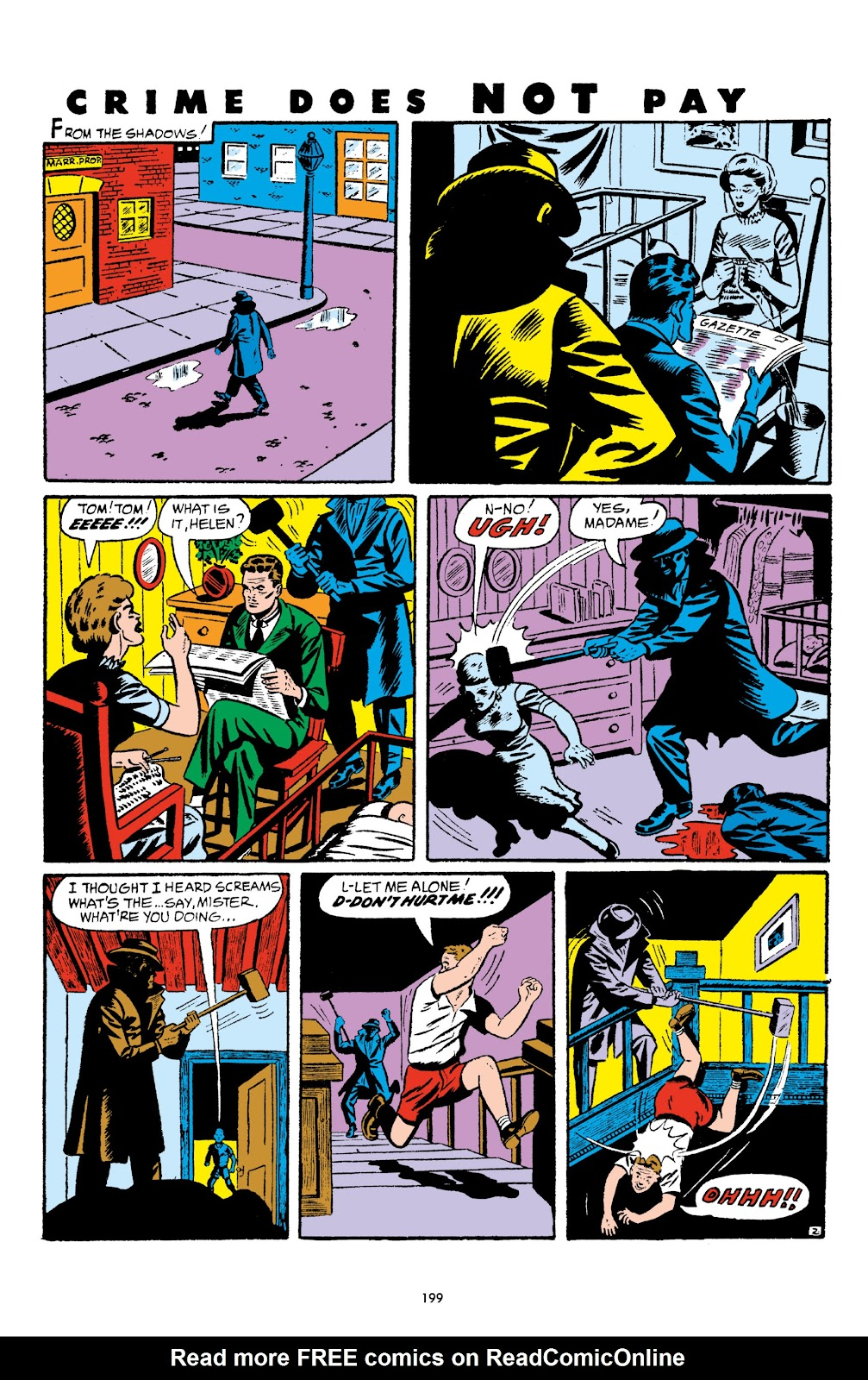 Read online Crime Does Not Pay Archives comic -  Issue # TPB 5 (Part 2) - 99