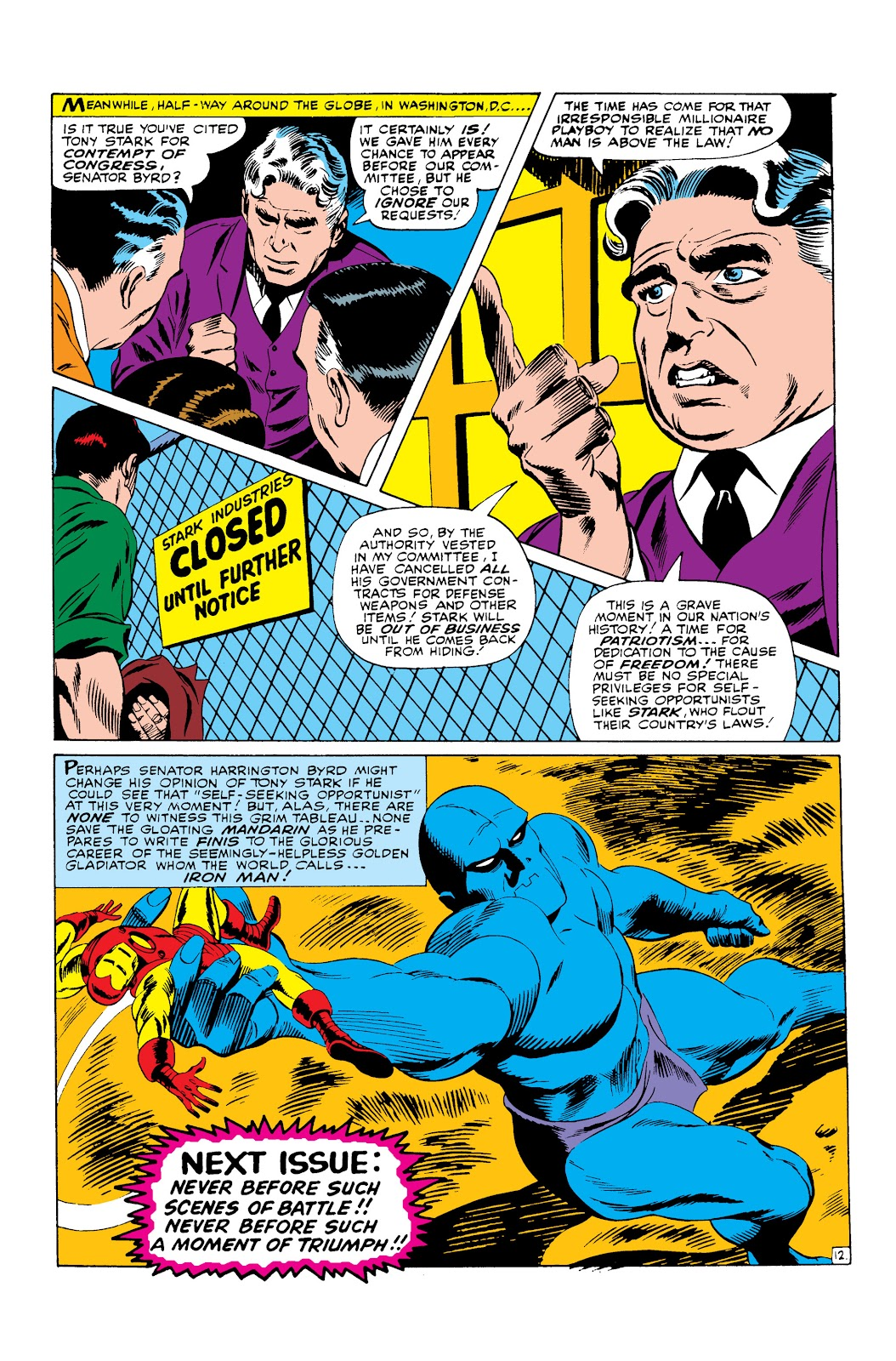 Read online Marvel Masterworks: The Invincible Iron Man comic -  Issue # TPB 3 (Part 3) - 68