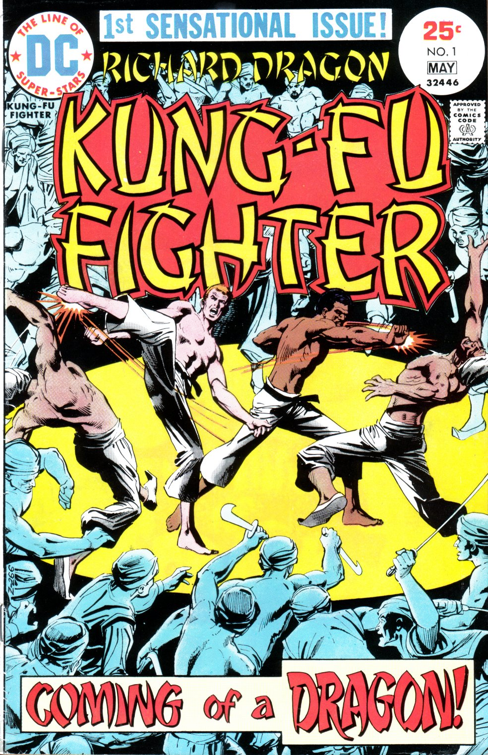 Richard Dragon, Kung-Fu Fighter 1 Page 1