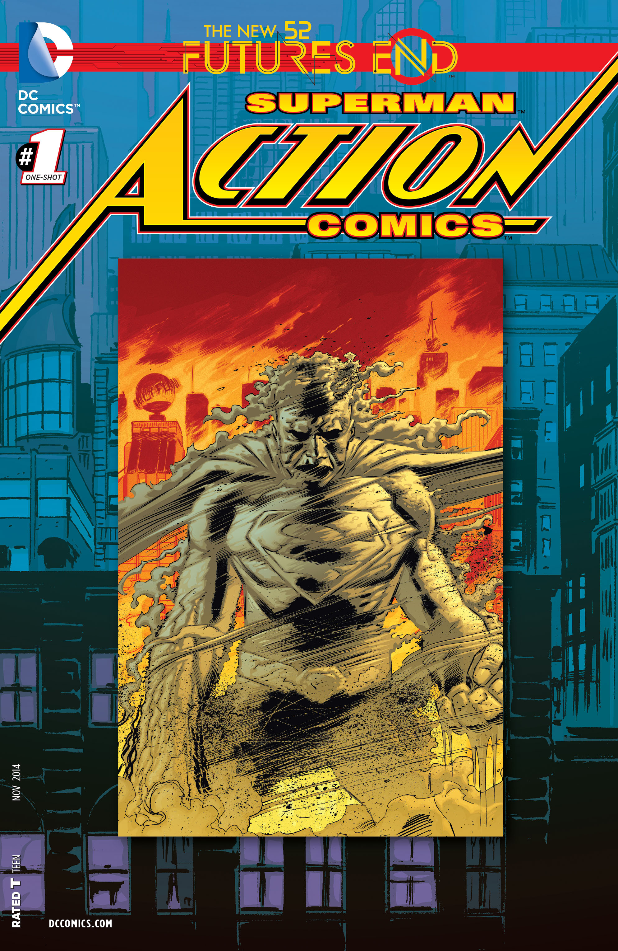 Read online Action Comics: Futures End comic -  Issue #Action Comics: Futures End Full - 1