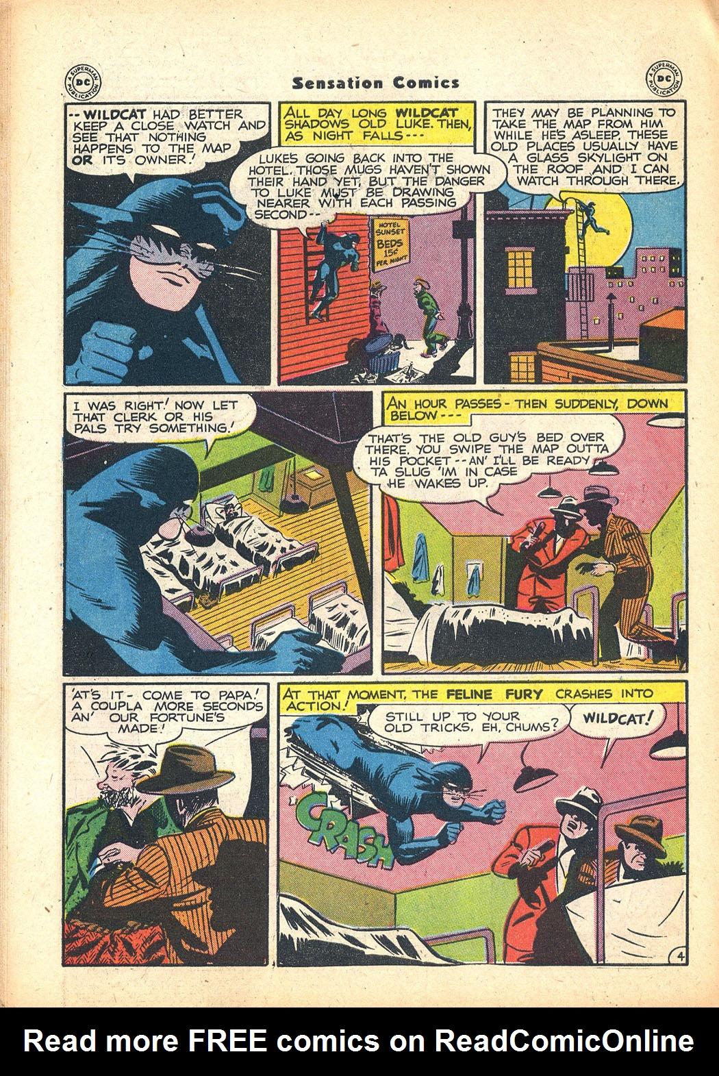 Read online Sensation (Mystery) Comics comic -  Issue #63 - 44