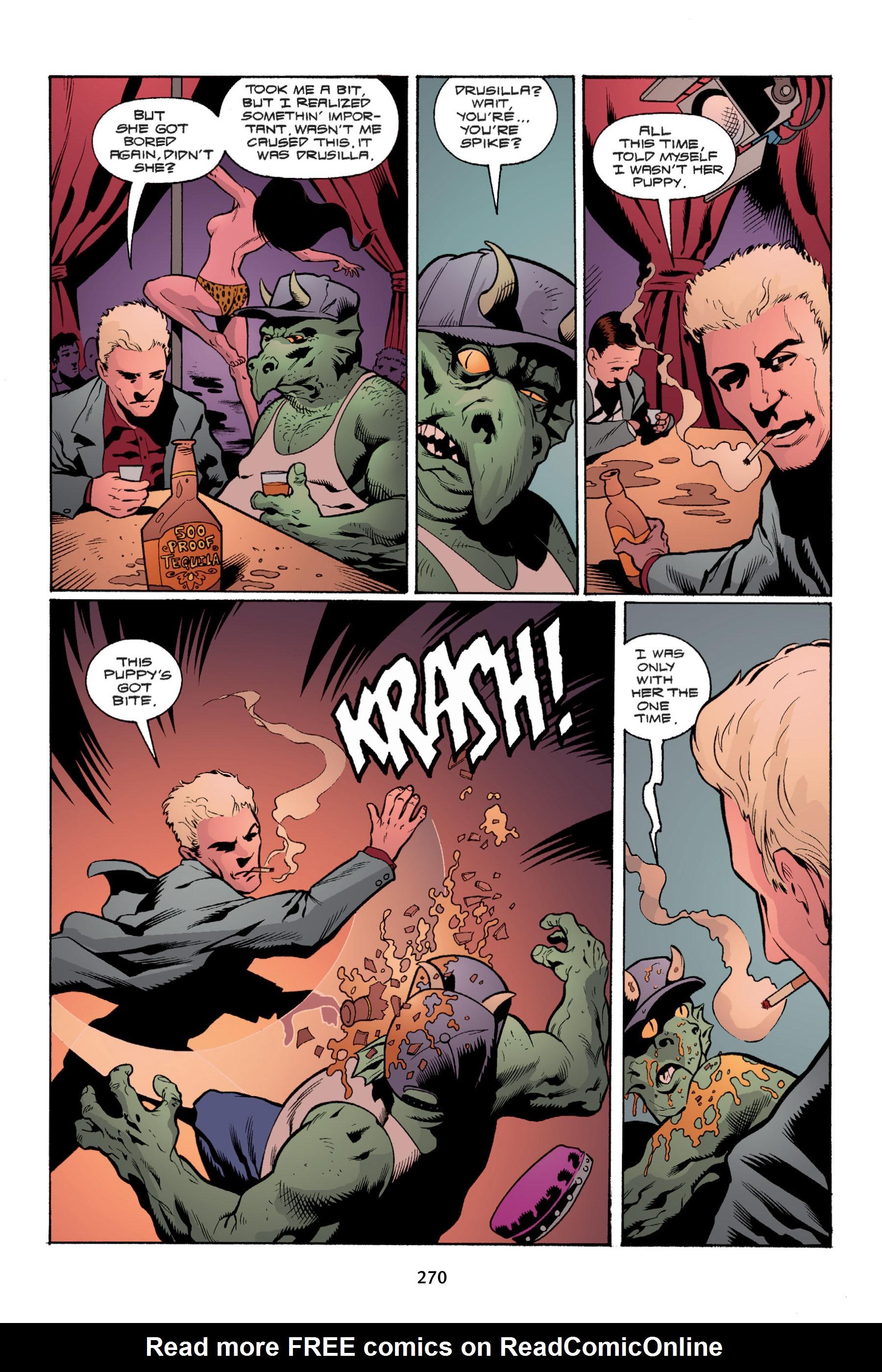 Read online Buffy the Vampire Slayer: Omnibus comic -  Issue # TPB 4 - 268