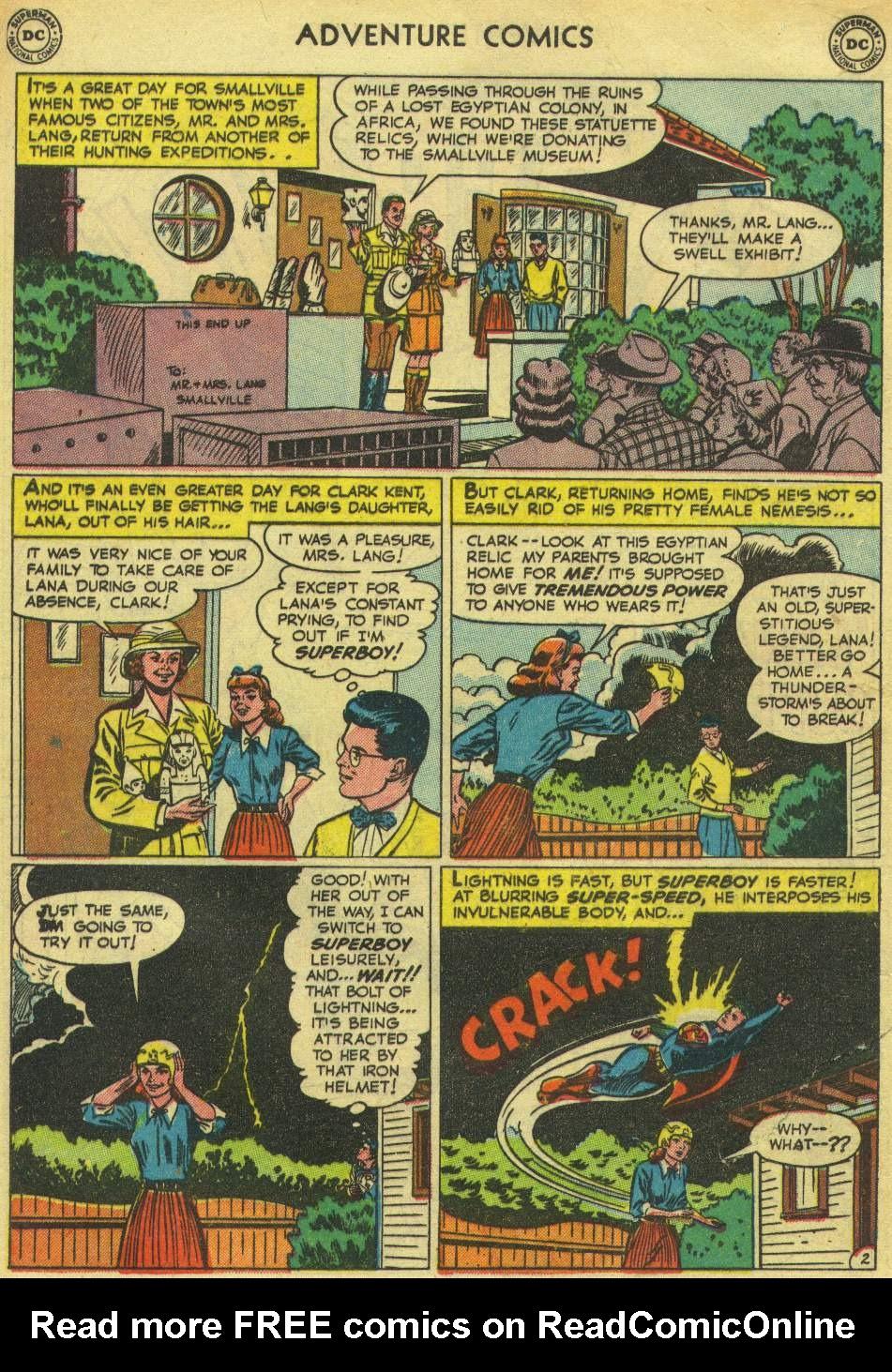 Read online Adventure Comics (1938) comic -  Issue #167 - 4