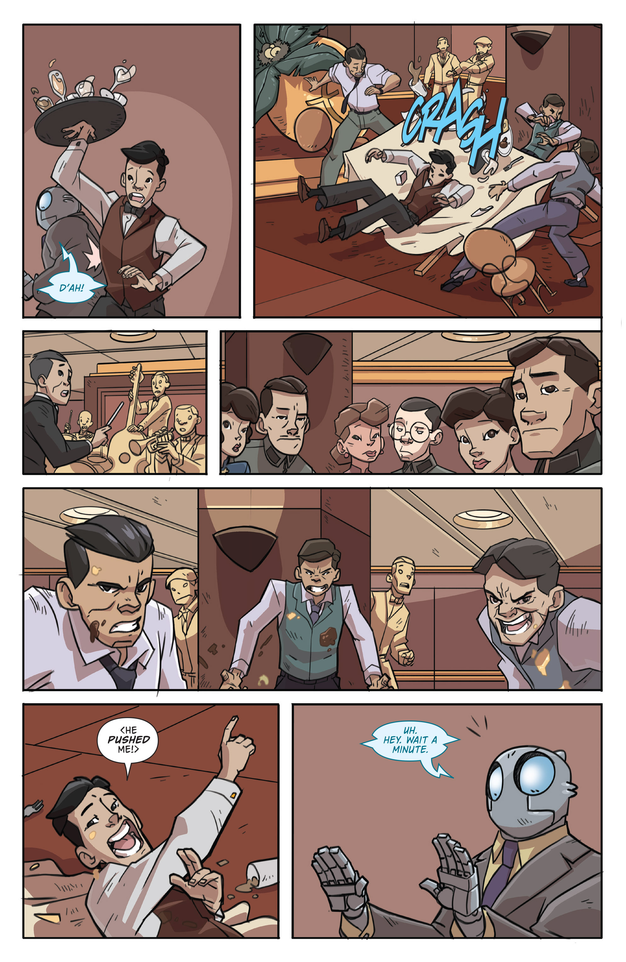 Read online Atomic Robo and the Temple of Od comic -  Issue #1 - 13