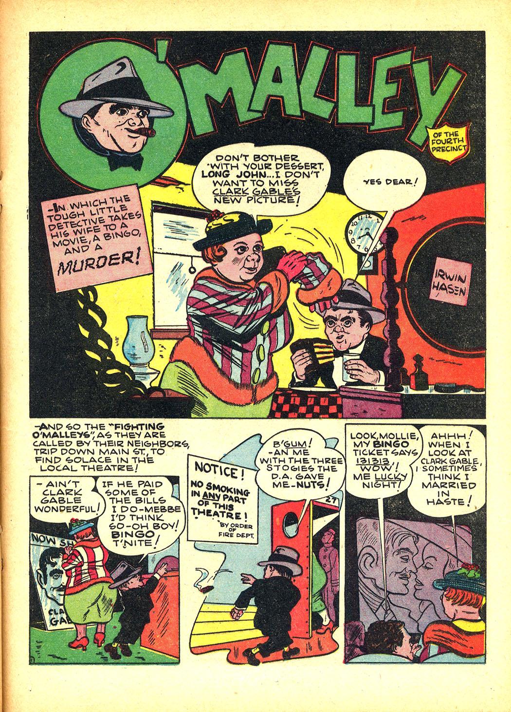 Read online Sensation (Mystery) Comics comic -  Issue #8 - 33
