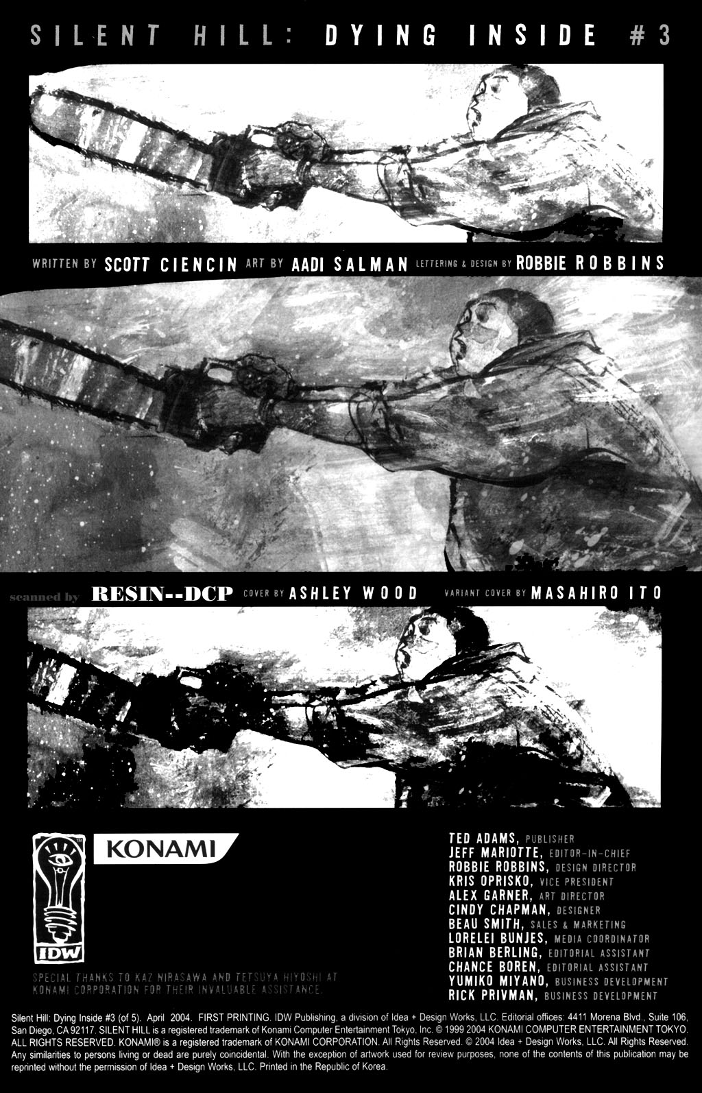 Read online Silent Hill: Dying Inside comic -  Issue #3 - 2