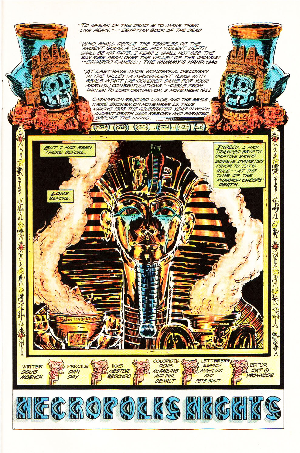 Read online Aztec Ace comic -  Issue #4 - 4