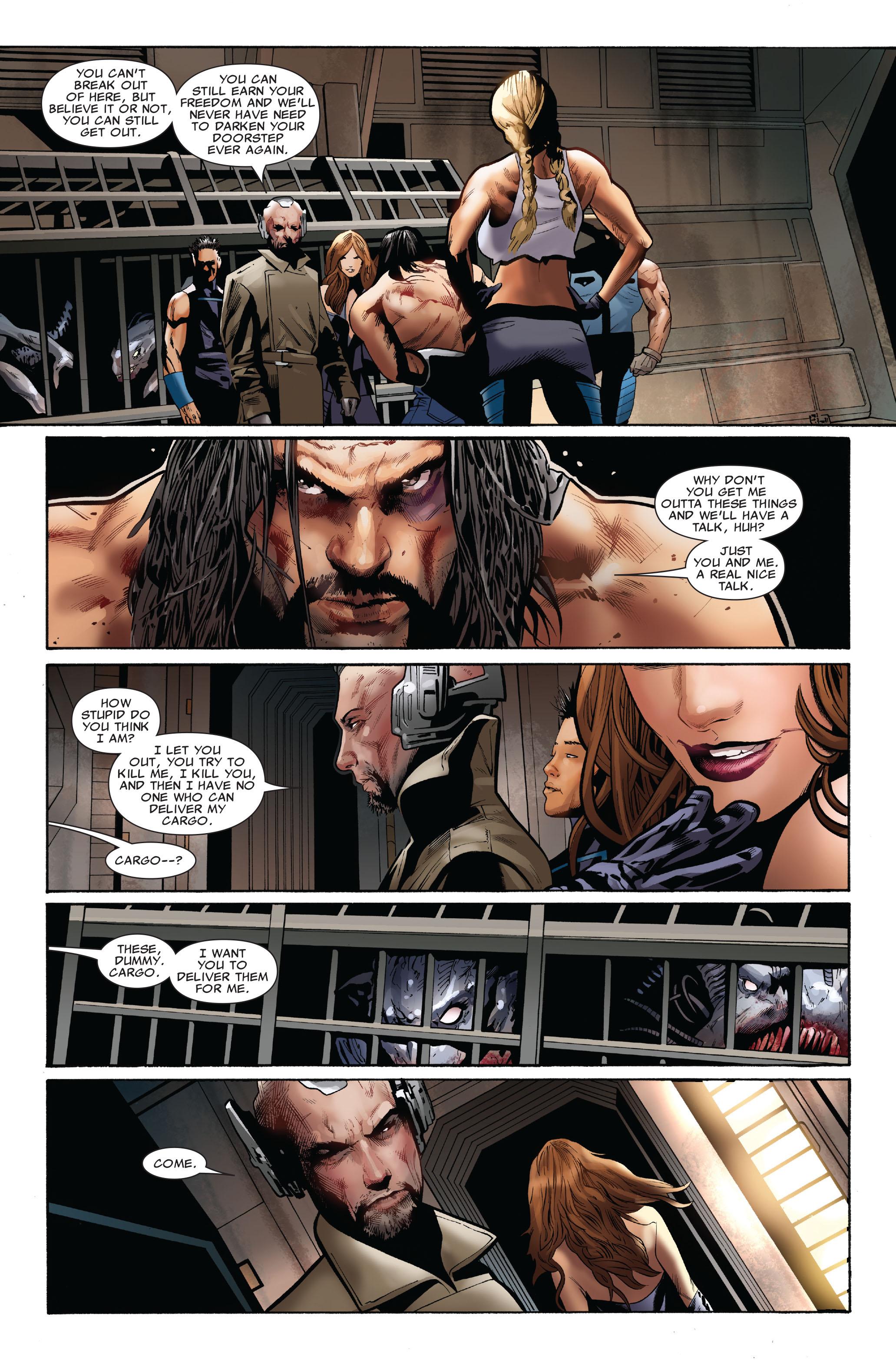 Read online Uncanny X-Men (1963) comic -  Issue #516 - 11