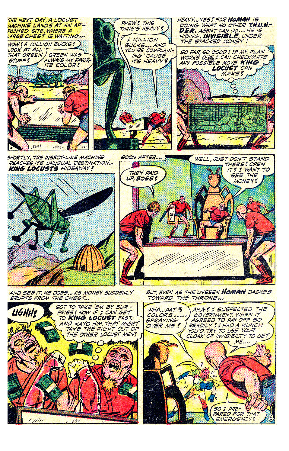 T.H.U.N.D.E.R. Agents (1965) issue 17 - Page 21