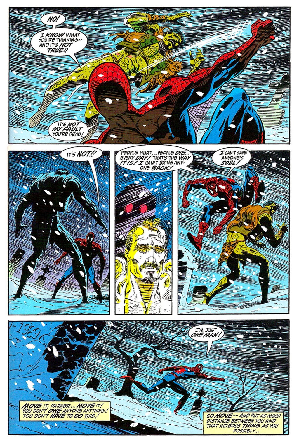 Read online The Amazing Spider-Man: Soul of the Hunter comic -  Issue # Full - 37