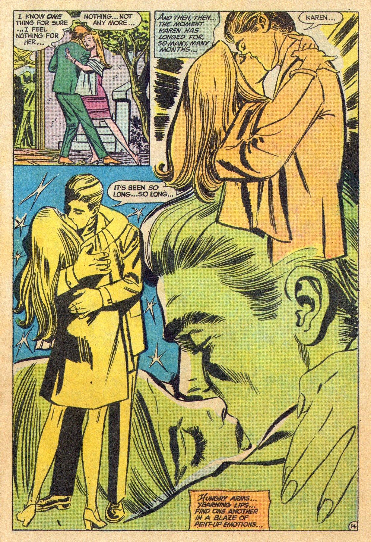 Read online Secret Hearts comic -  Issue #136 - 31