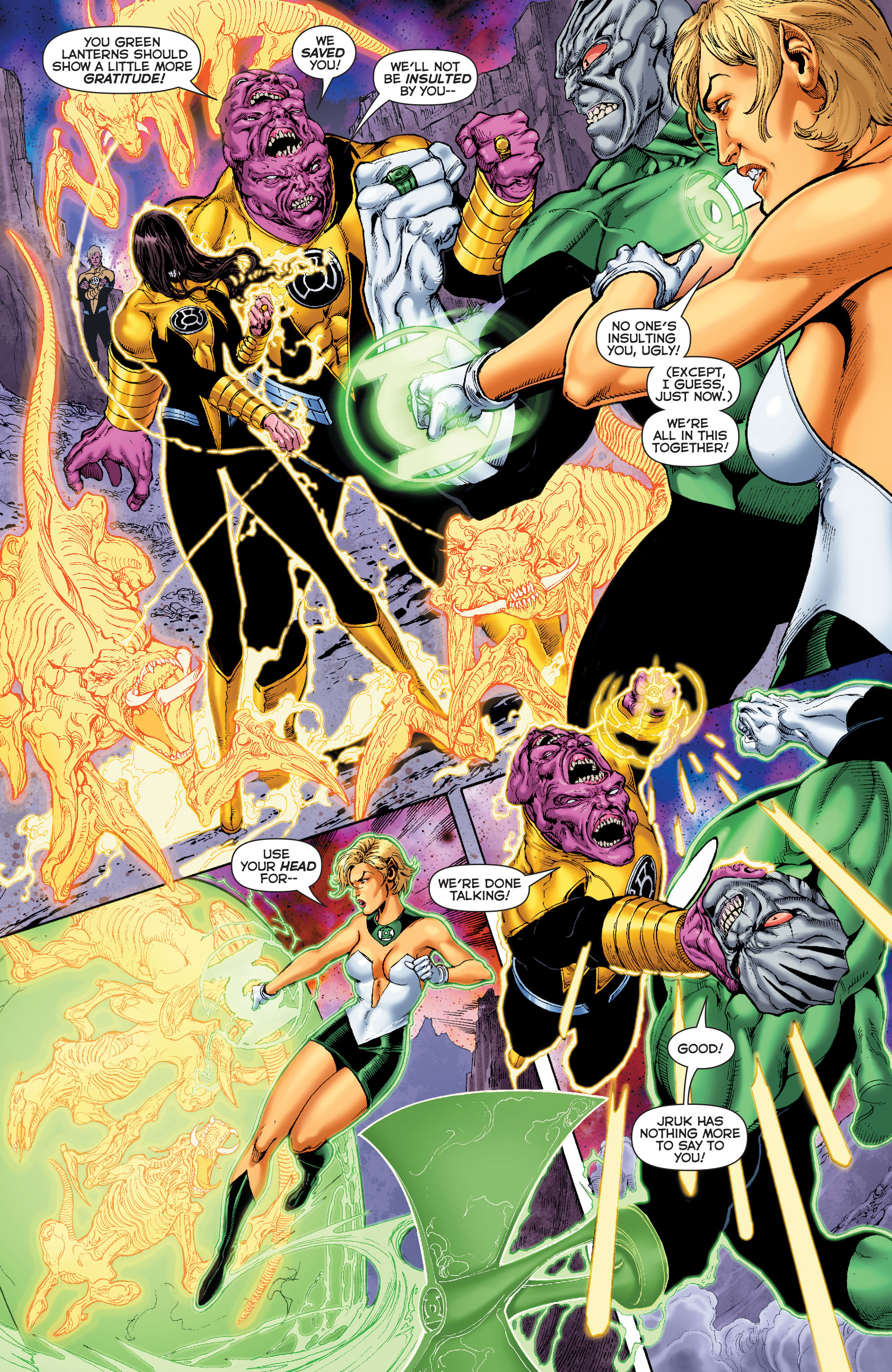 Read online Sinestro comic -  Issue #7 - 10