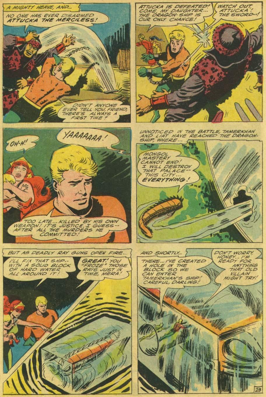 Read online Aquaman (1962) comic -  Issue #25 - 31