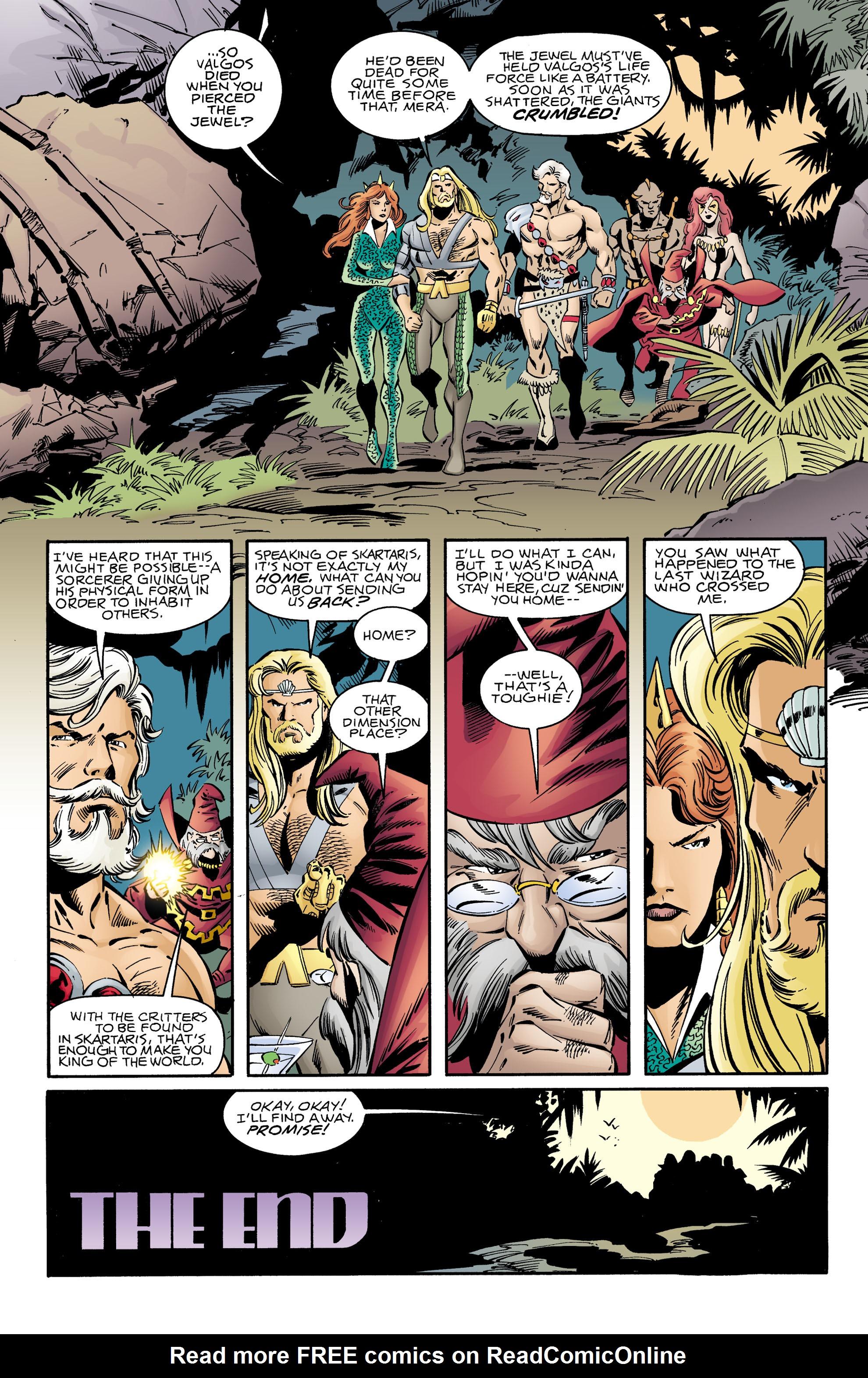 Read online Aquaman (1994) comic -  Issue #73 - 22