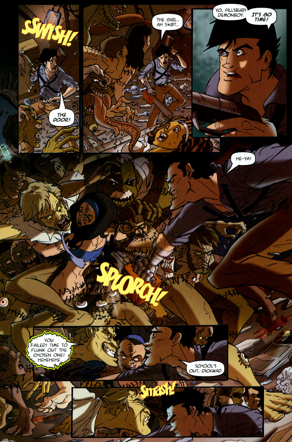 Read online Army of Darkness vs. Re-Animator comic -  Issue #4 - 14