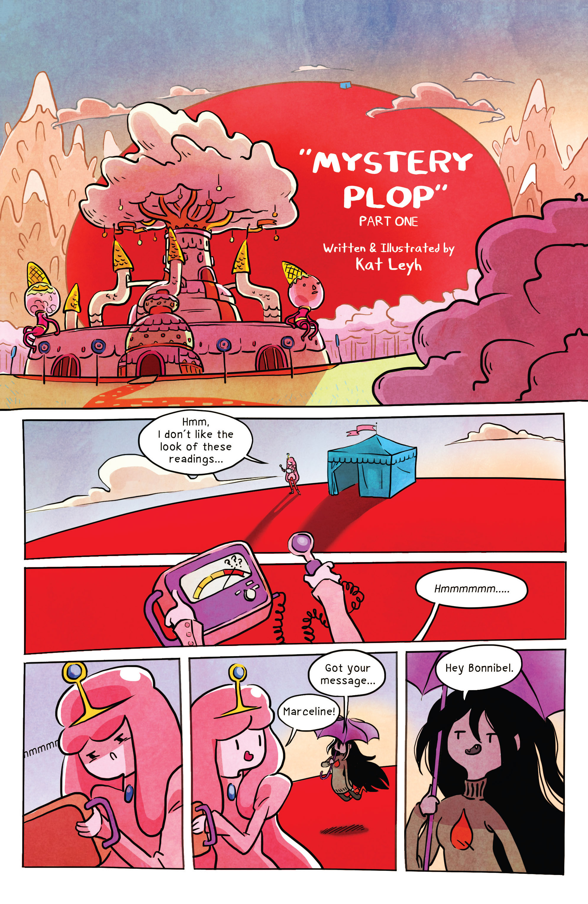 Read online Adventure Time comic -  Issue #32 - 19