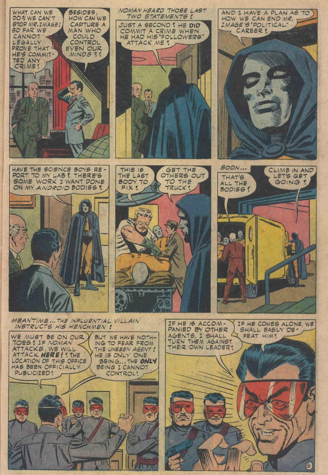 T.H.U.N.D.E.R. Agents (1965) issue 6 - Page 61