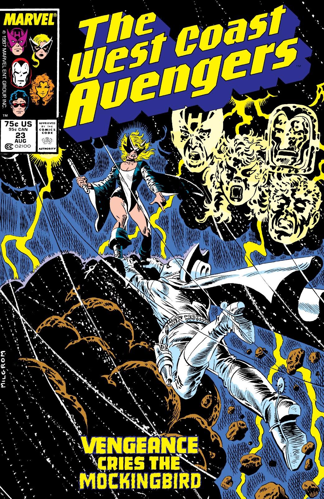 West Coast Avengers (1985) 23 Page 1