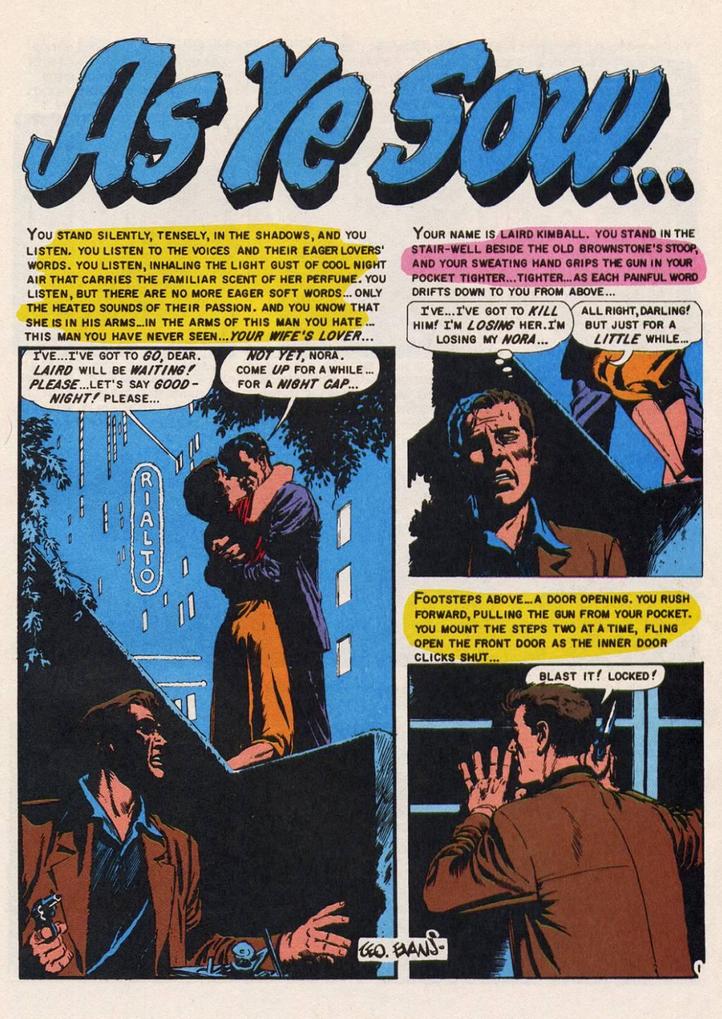 Read online Shock SuspenStories comic -  Issue #14 - 24