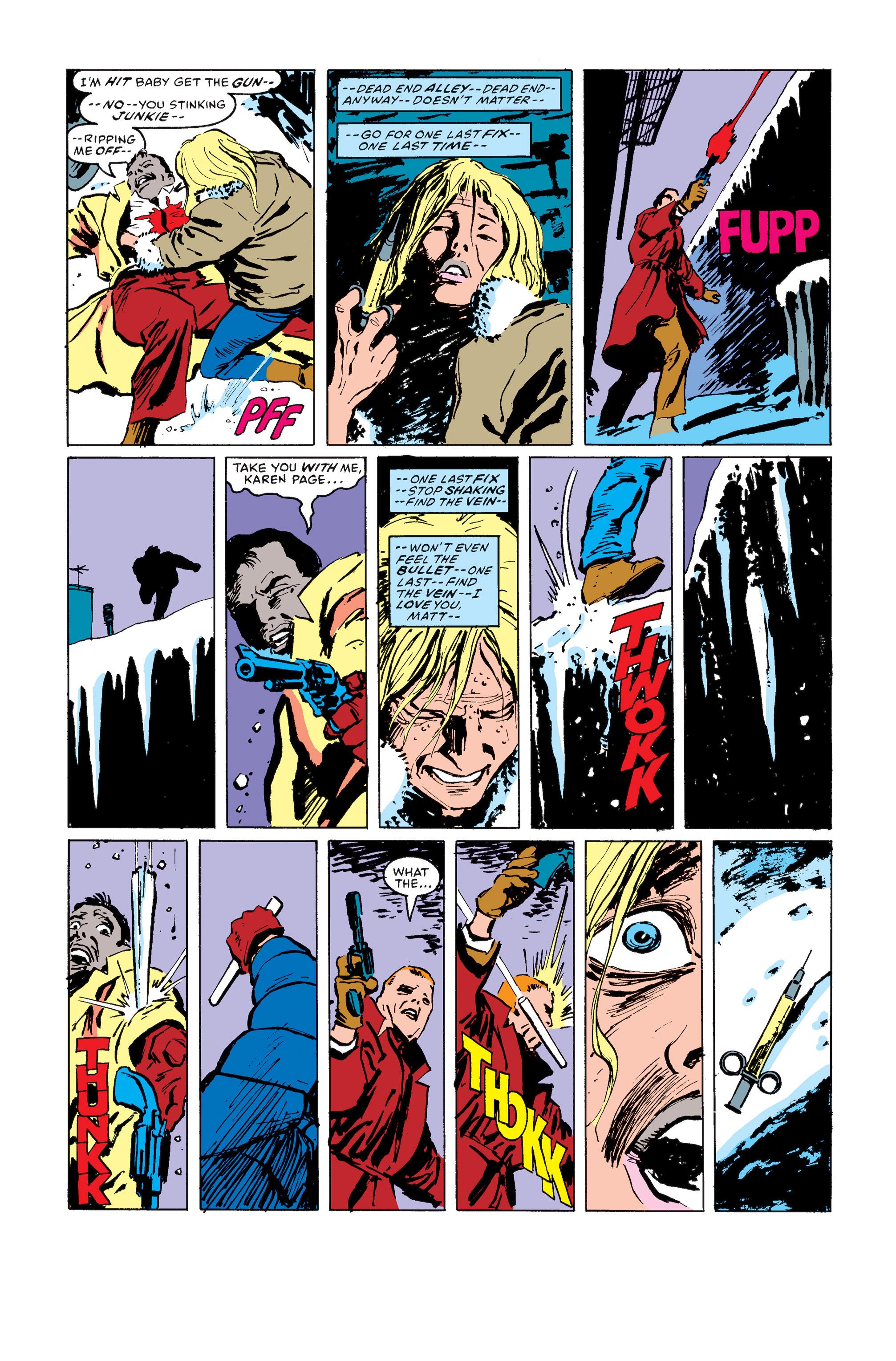 Read online Daredevil: Born Again comic -  Issue # Full - 143