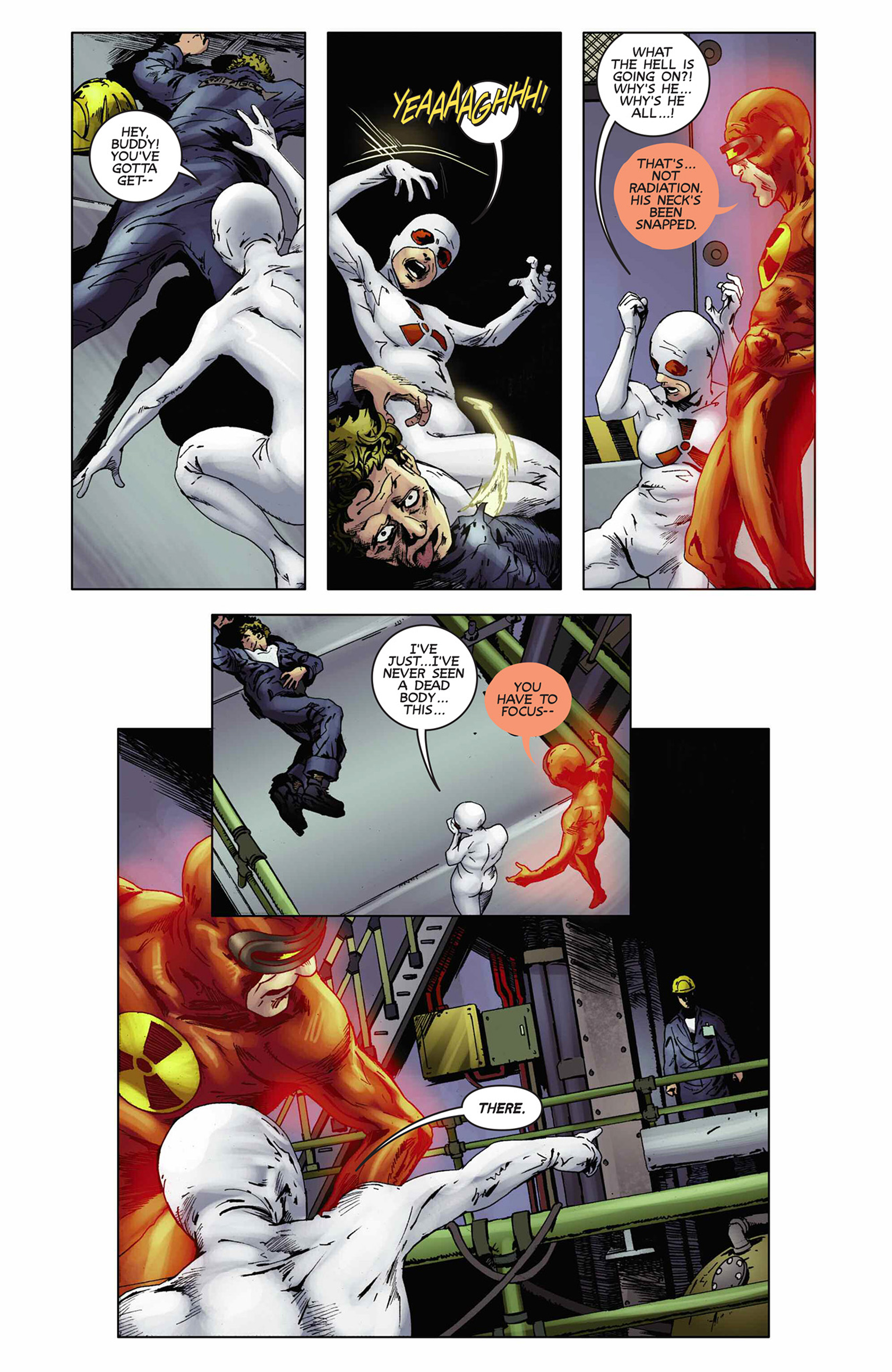 Read online Solar: Man of the Atom (2014) comic -  Issue #9 - 17