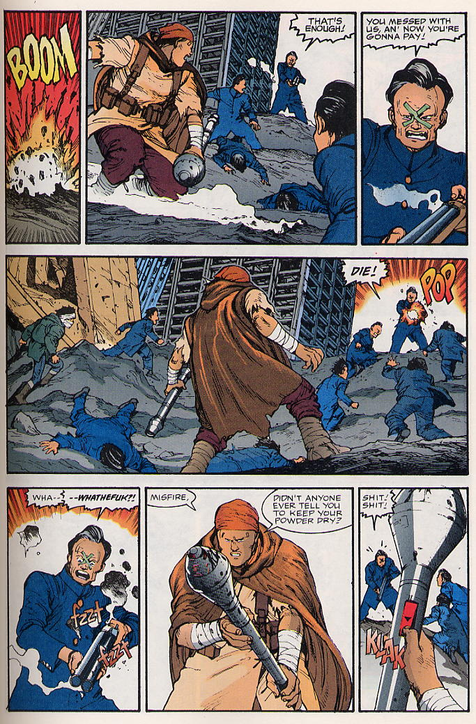 Read online Akira comic -  Issue #17 - 32
