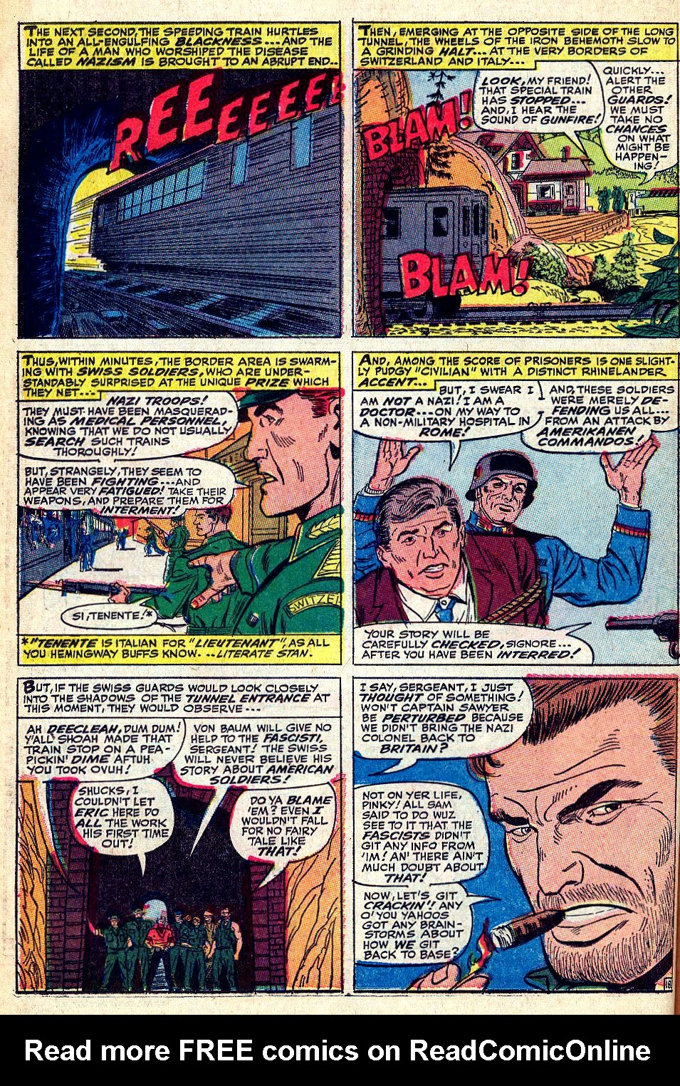 Read online Sgt. Fury comic -  Issue #36 - 25