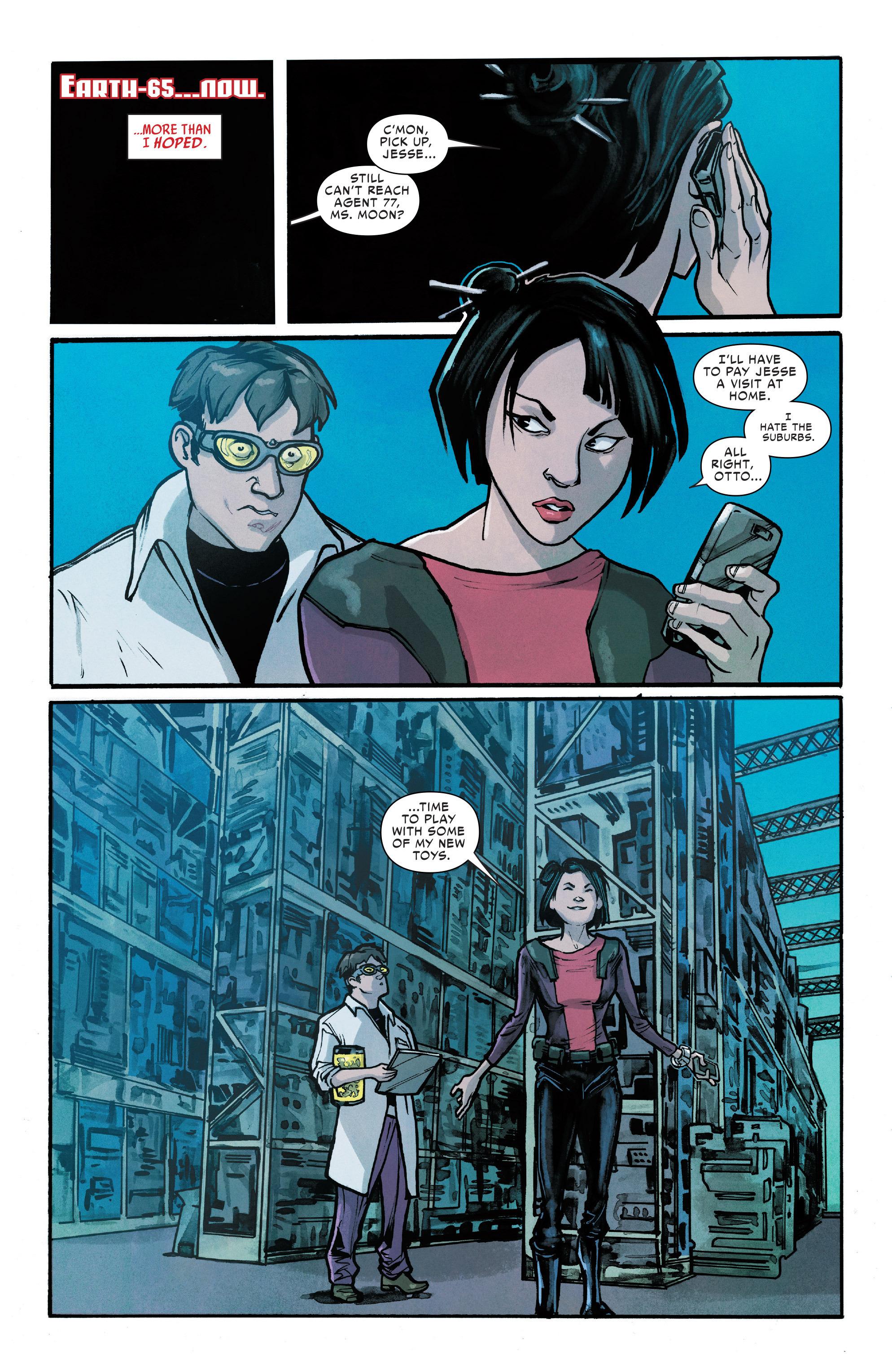 Read online Silk (2016) comic -  Issue #8 - 20