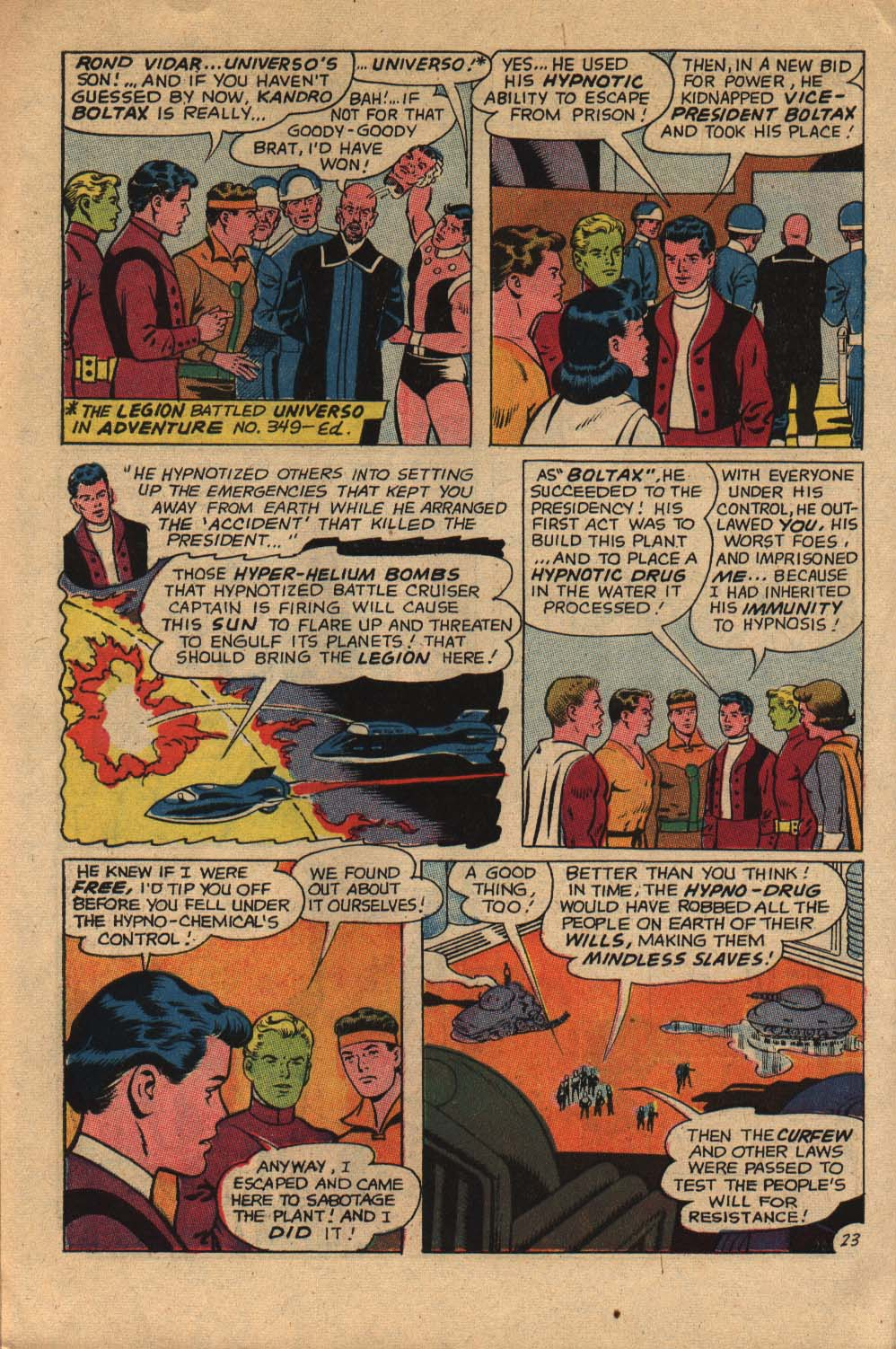 Read online Adventure Comics (1938) comic -  Issue #360 - 30