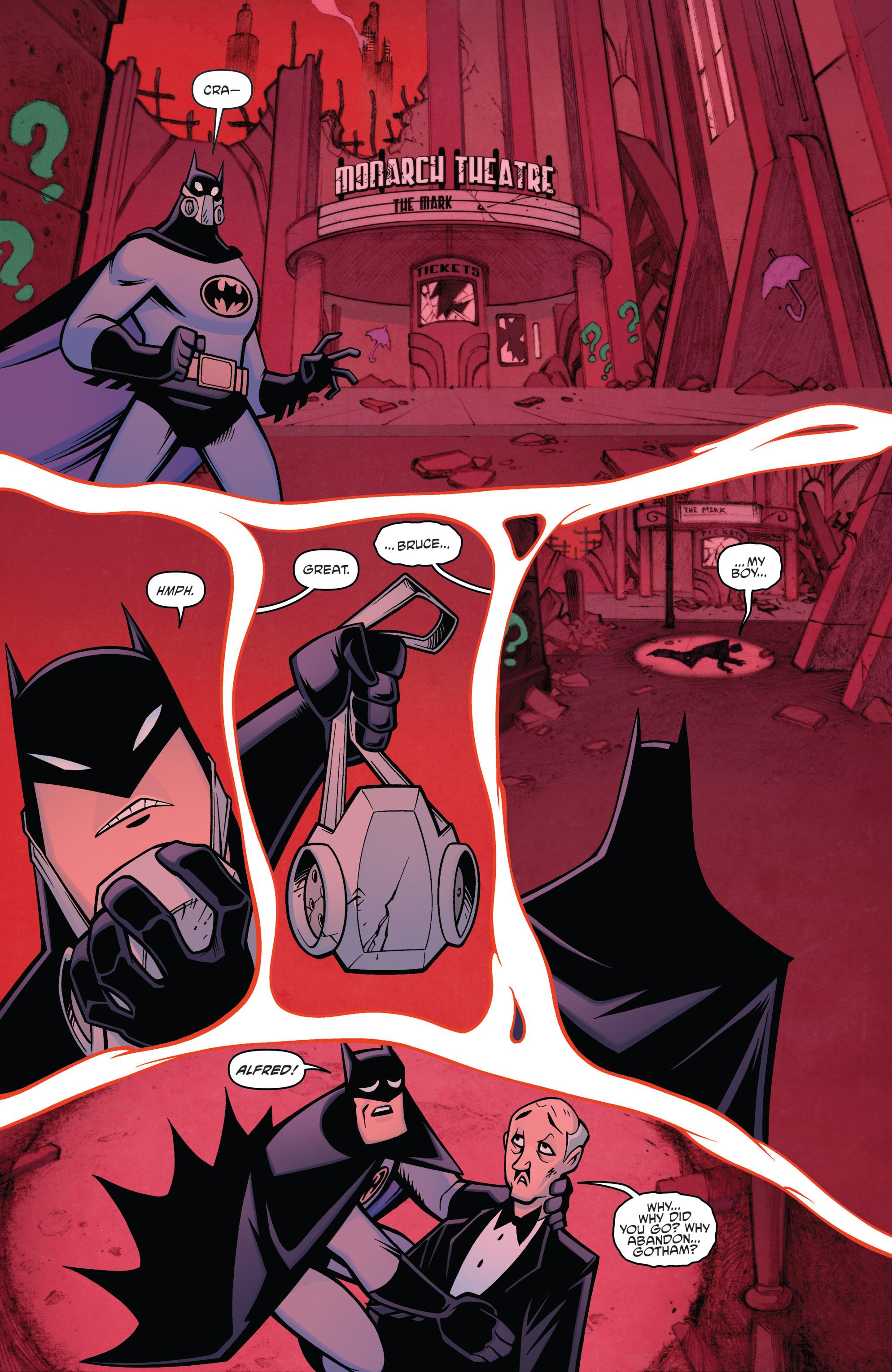 Read online Batman/Teenage Mutant Ninja Turtles Adventure comic -  Issue #4 - 4