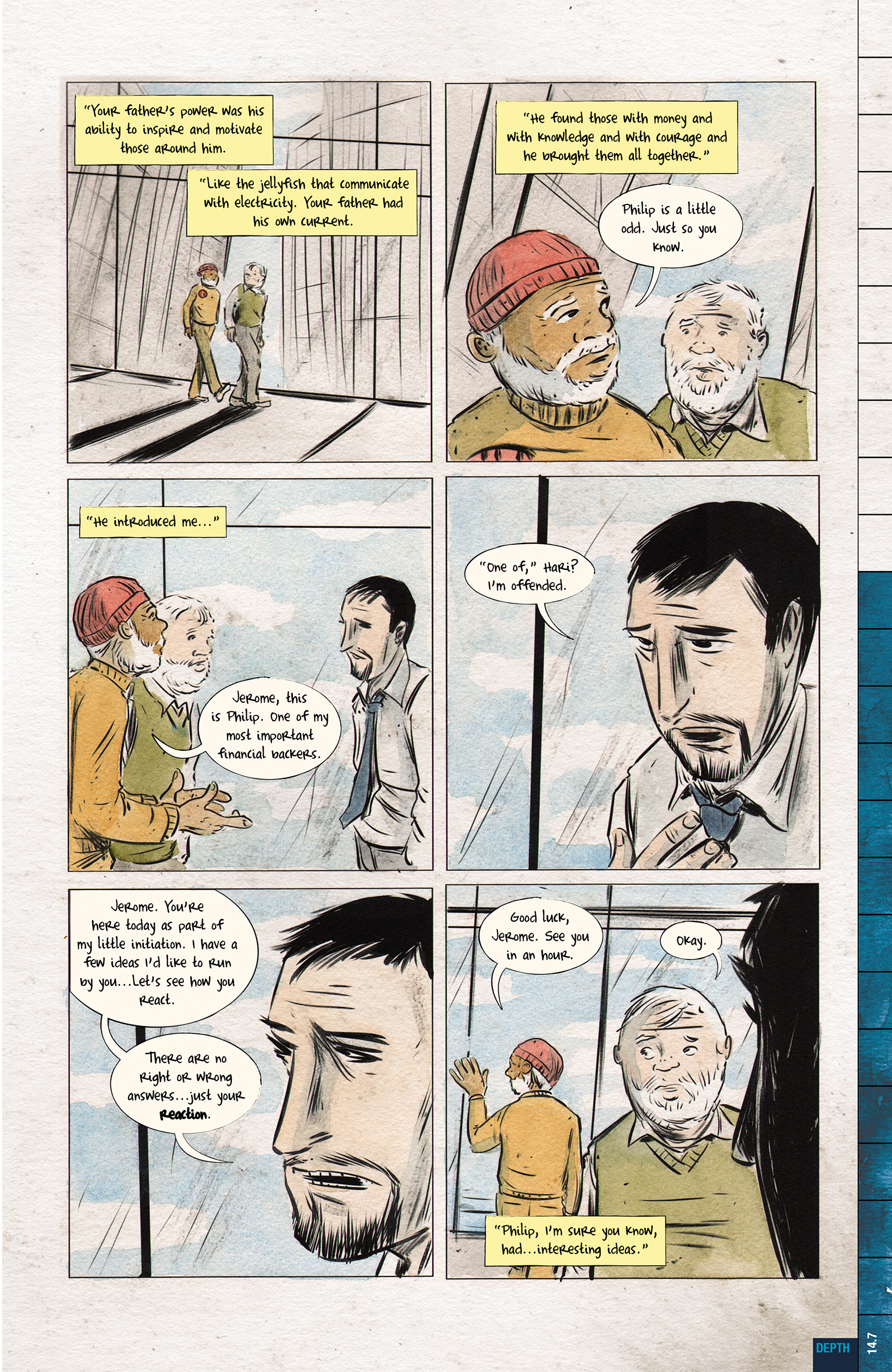 Read online Dept. H comic -  Issue #14 - 9