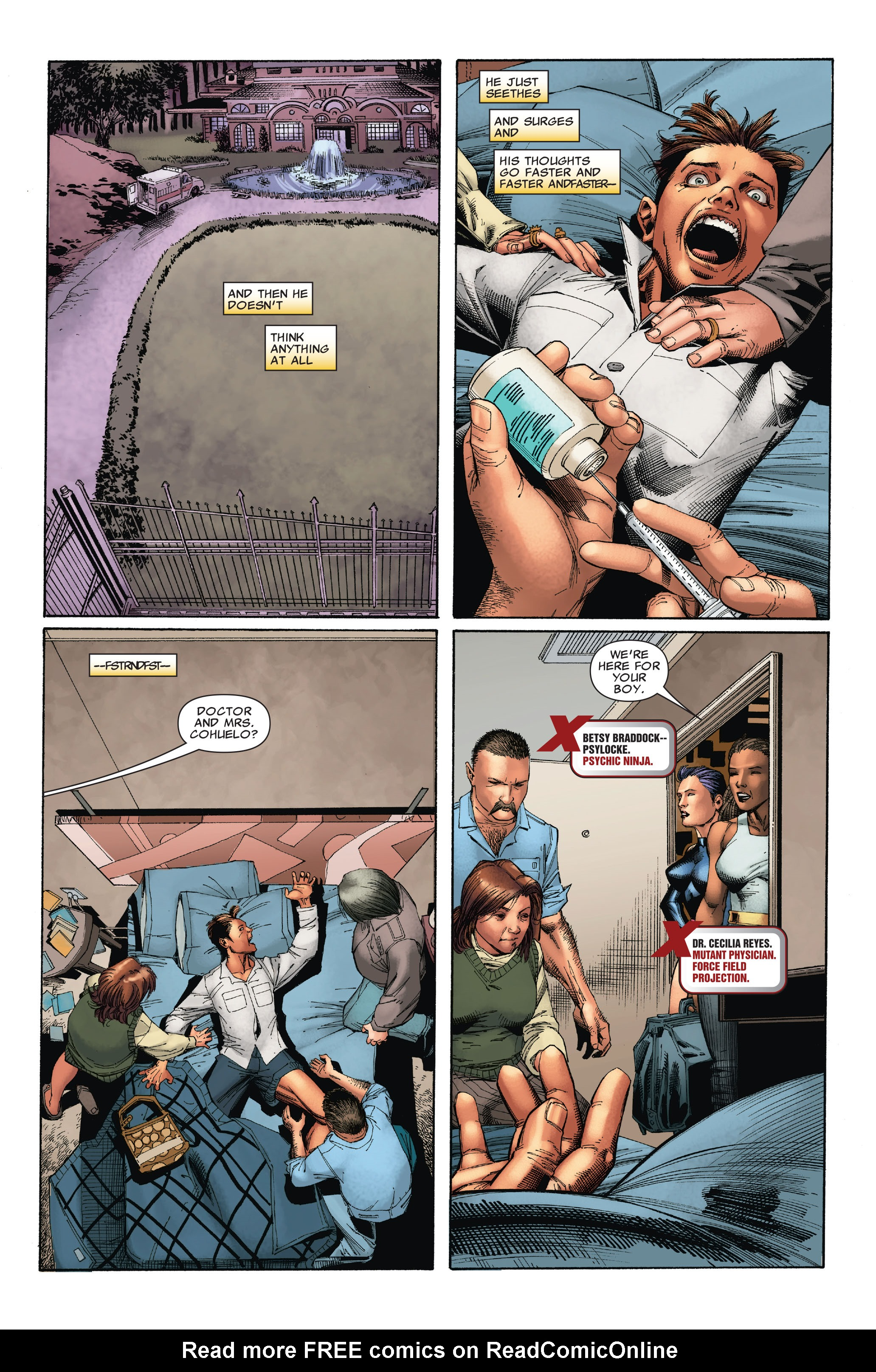 Read online Uncanny X-Men (1963) comic -  Issue #527 - 4