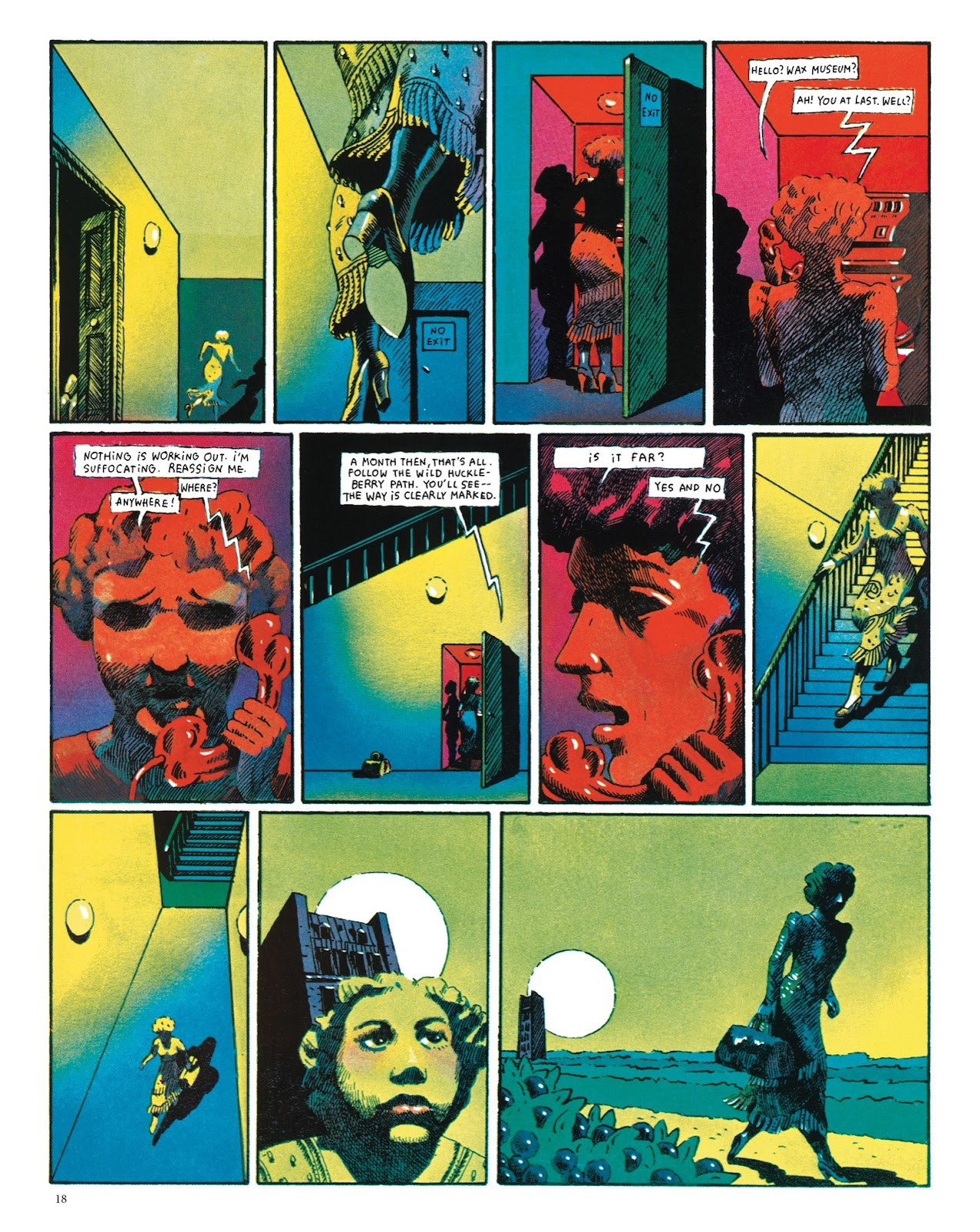 Read online The Green Hand and Other Stories comic -  Issue # TPB - 17