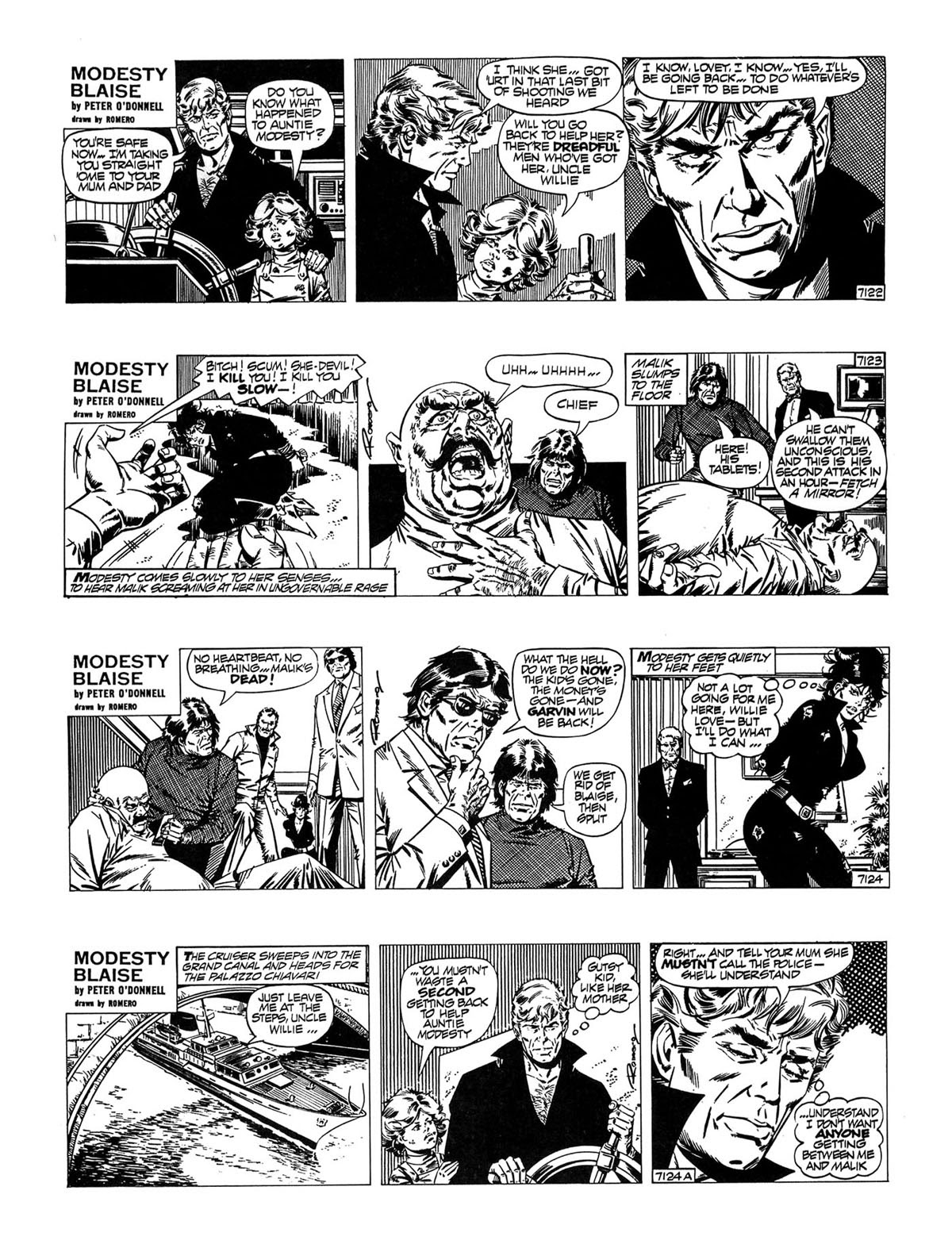 Read online Modesty Blaise Live bait comic -  Issue # TPB - 28