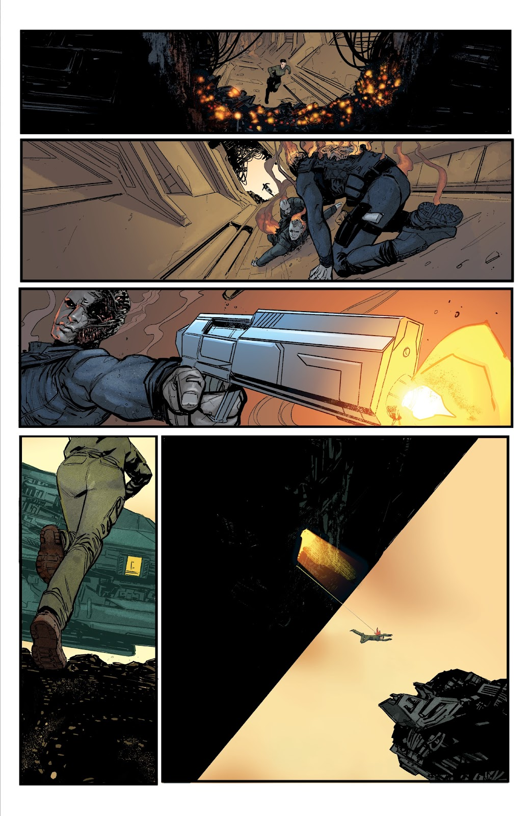 Read online Aliens: Resistance comic -  Issue #1 - 15