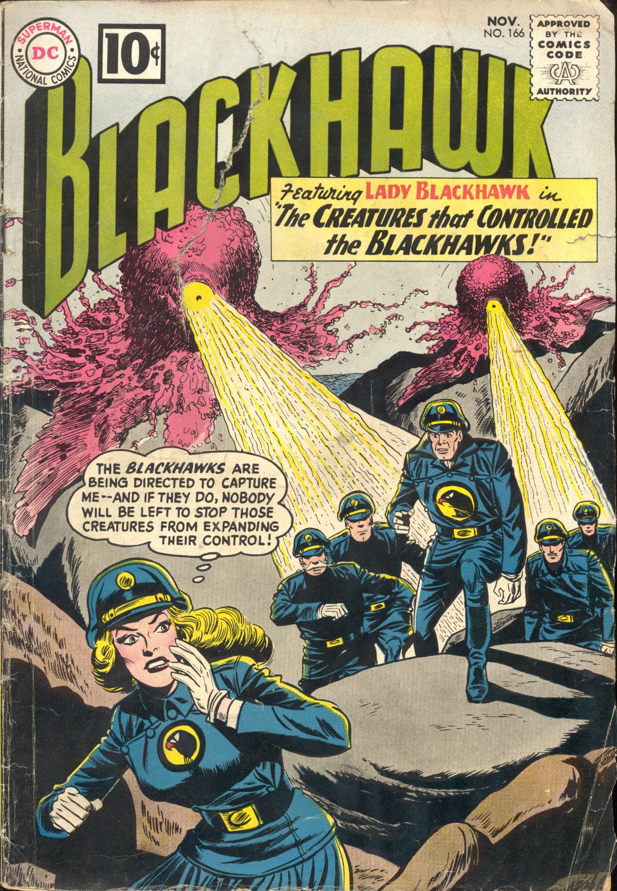 Blackhawk (1957) 166 Page 1