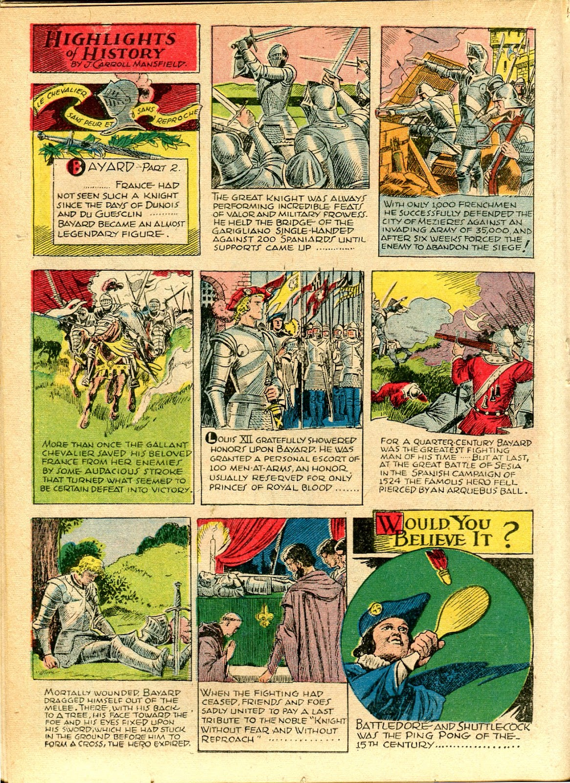 Read online Famous Funnies comic -  Issue #111 - 34