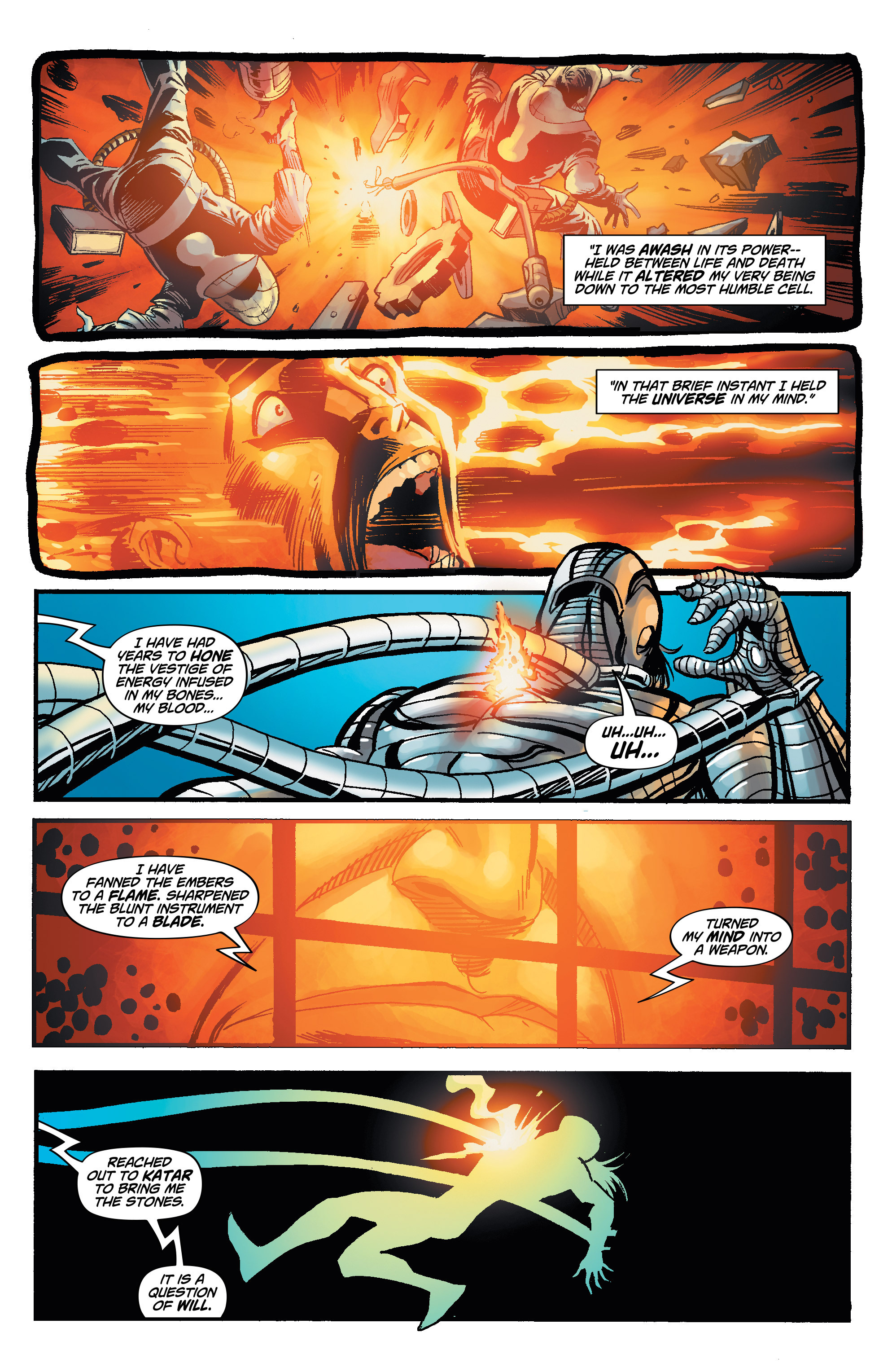 Read online Shadow Tiger comic -  Issue #4 - 14