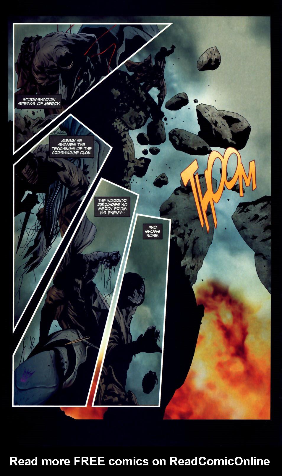 Read online Transformers/G.I. Joe comic -  Issue #3 - 13
